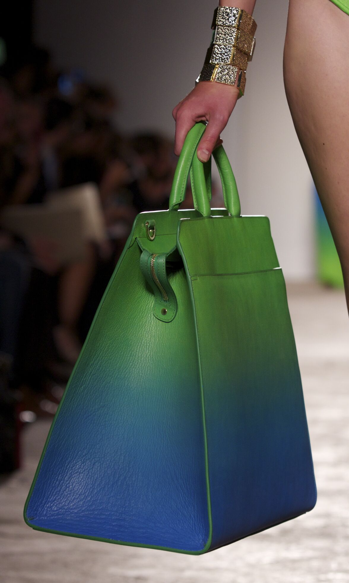 Fashion Woman Model Aigner Catwalk