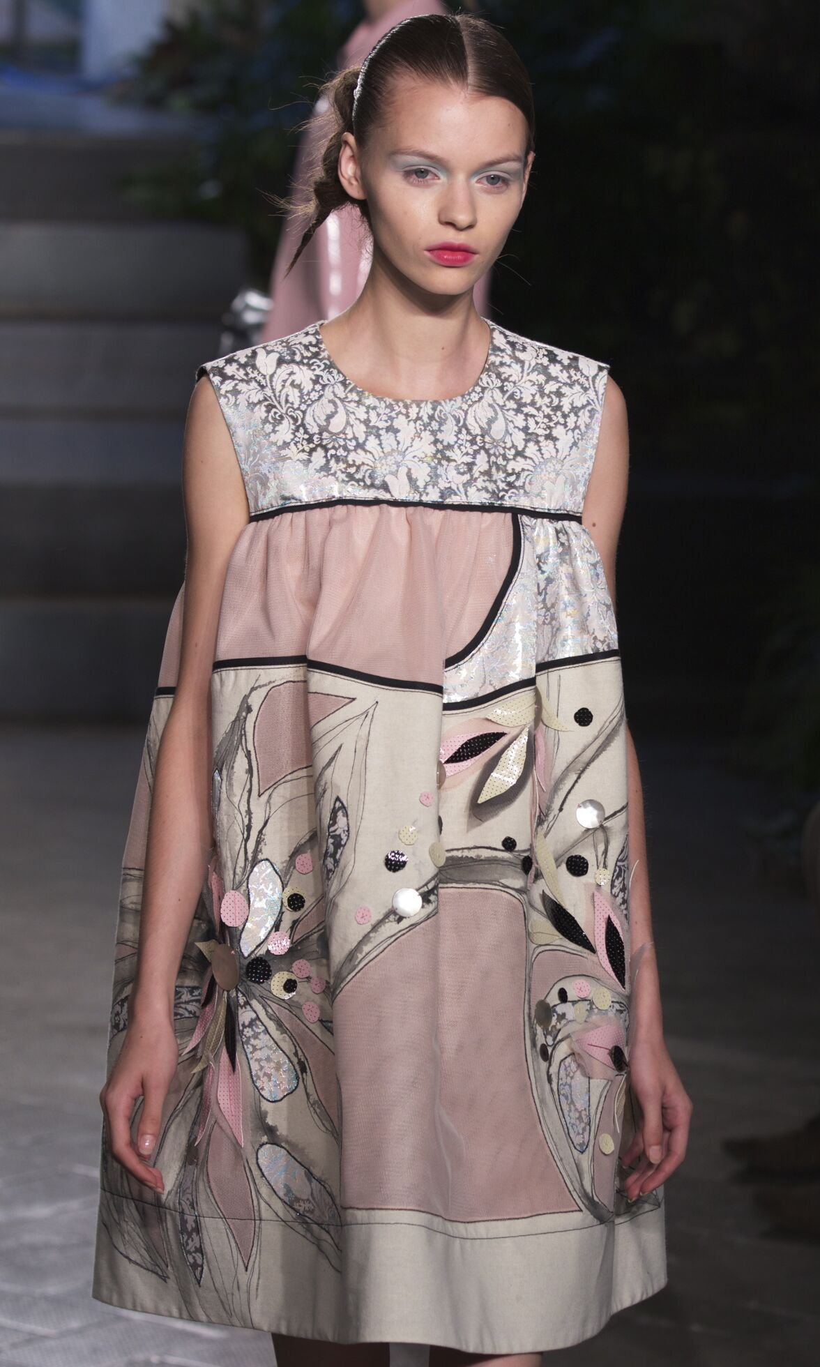 Fashion Woman Model Antonio Marras Catwalk