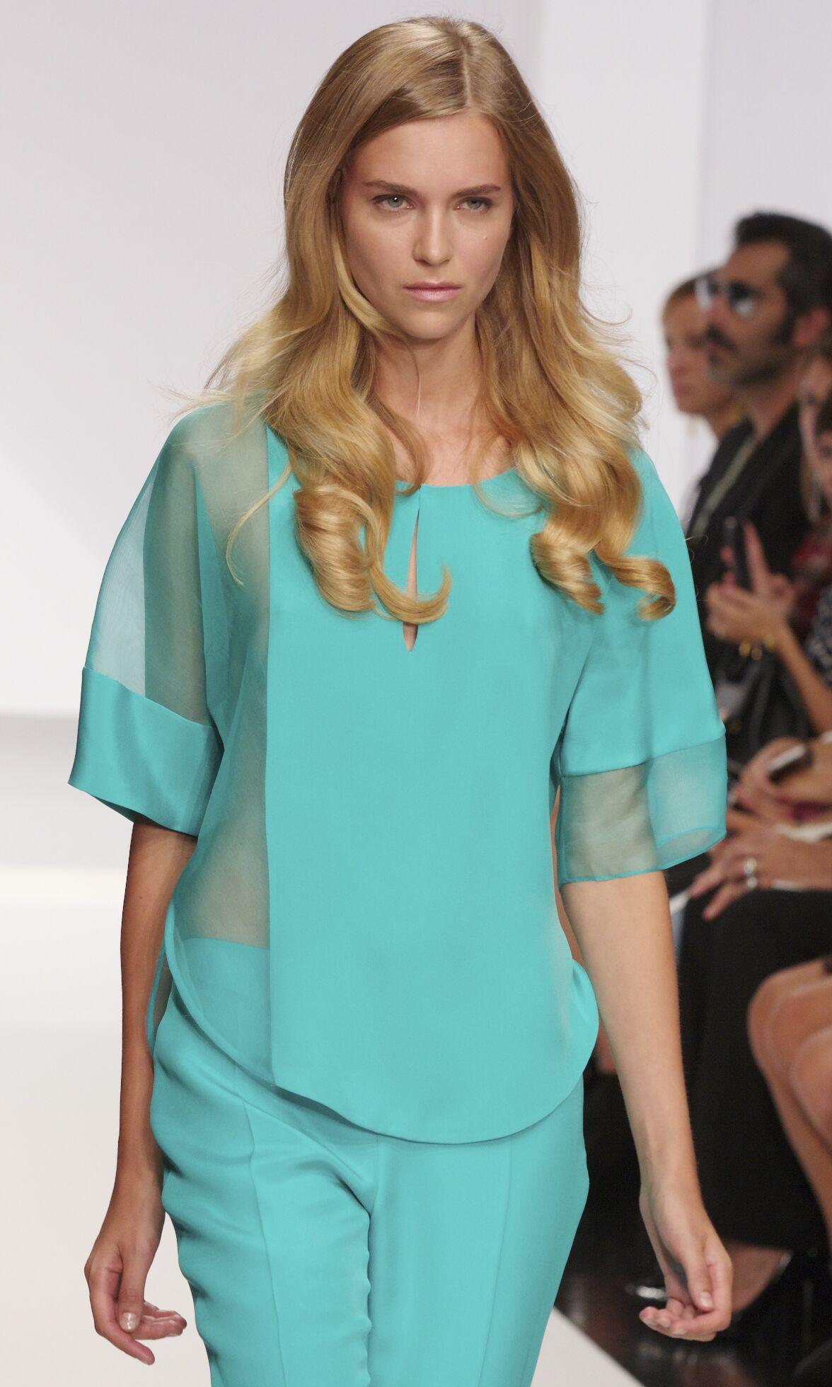 Fashion Woman Model Krizia Catwalk