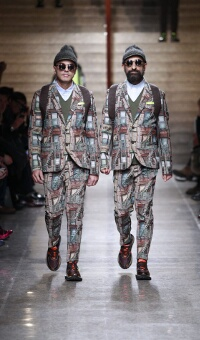 FRANKIE MORELLO FALL WINTER 2013-14 MEN'S COLLECTION – MILANO FASHION WEEK