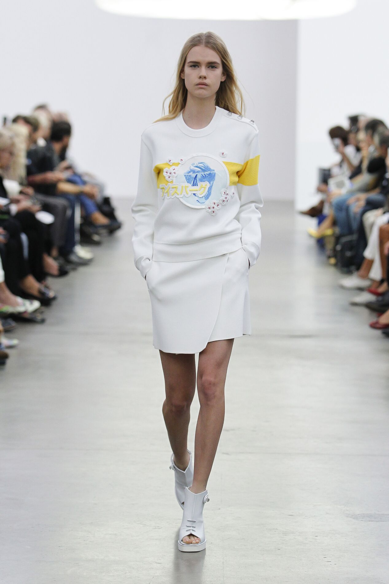 Iceberg Spring Summer 2014 Womens Collection Milano Fashion Week