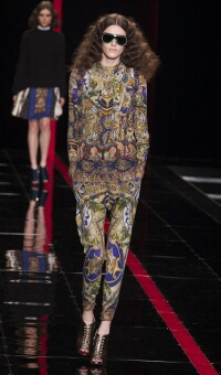 JUST CAVALLI FALL WINTER 2013-14 WOMEN'S COLLECTION – MILANO FASHION WEEK