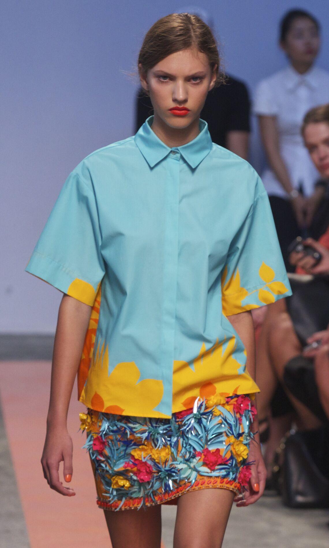 MSGM Woman Milano Fashion Week