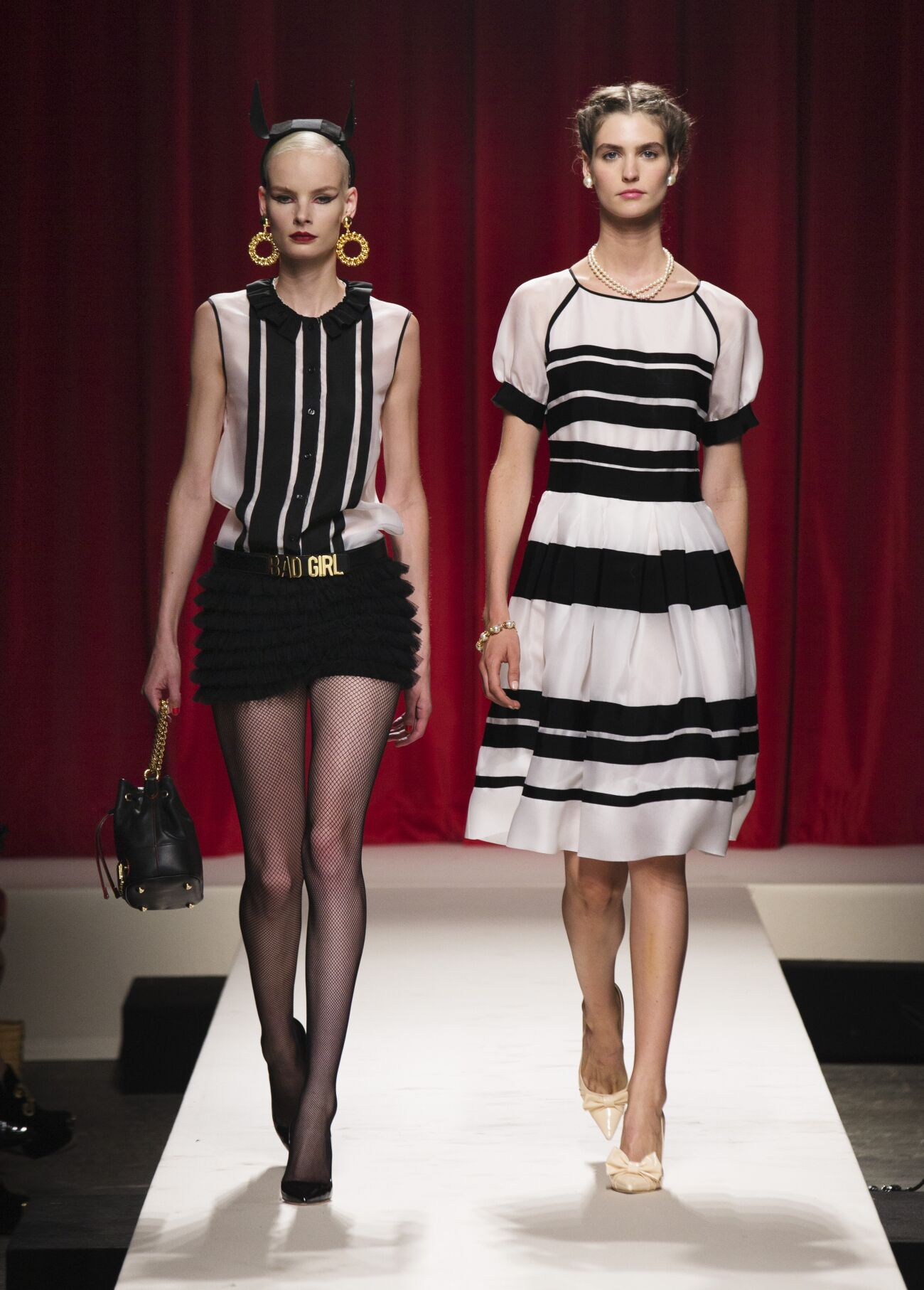 Moschino Spring Summer 2014 Womens Collection Milano Fashion Week