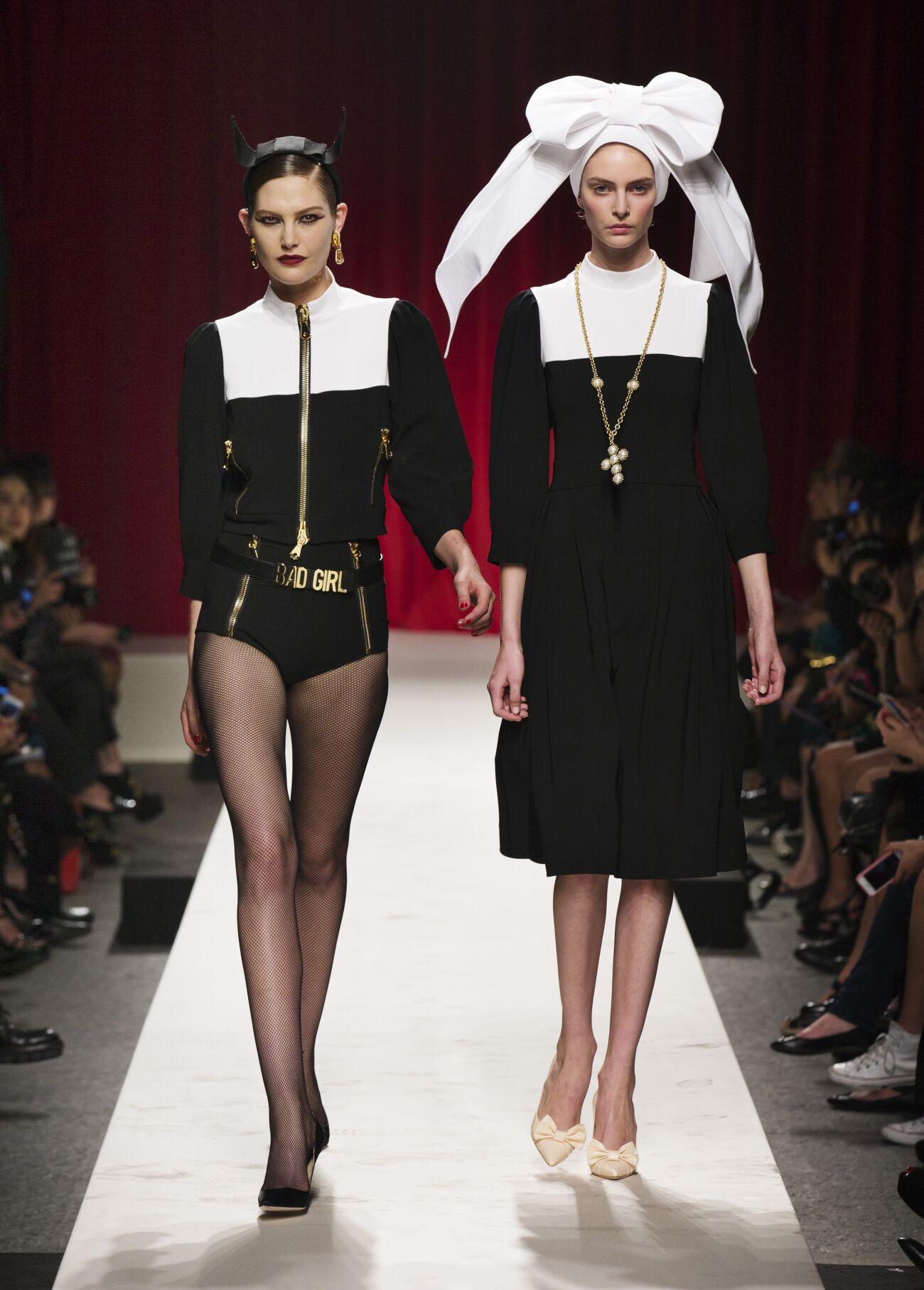 Moschino Woman Milano Fashion Week