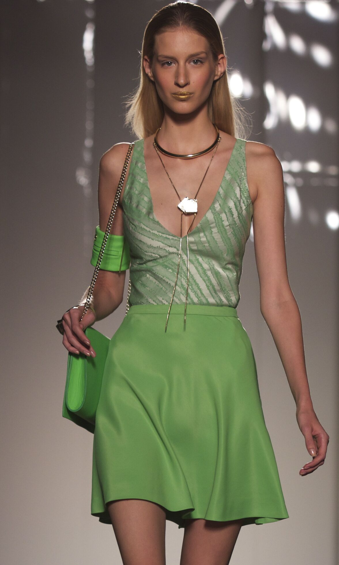 Runway Aigner Spring Summer 2014 Women Collection Milan Fashion Week