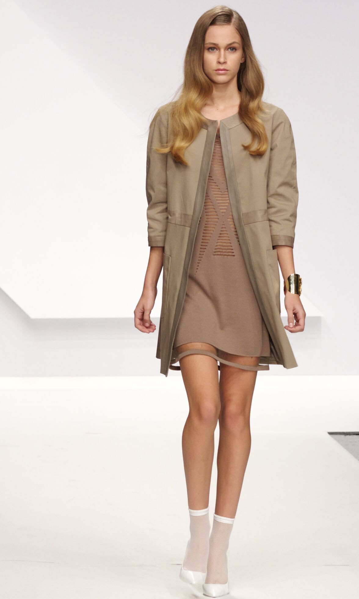 Runway Krizia Spring Summer 2014 Women Collection Milan Fashion Week
