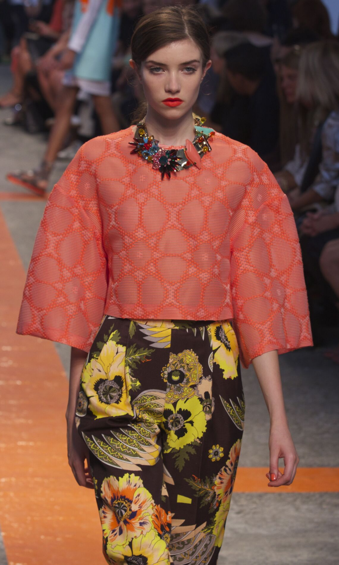 Runway MSGM Spring Summer 2014 Women Collection Milan Fashion Week