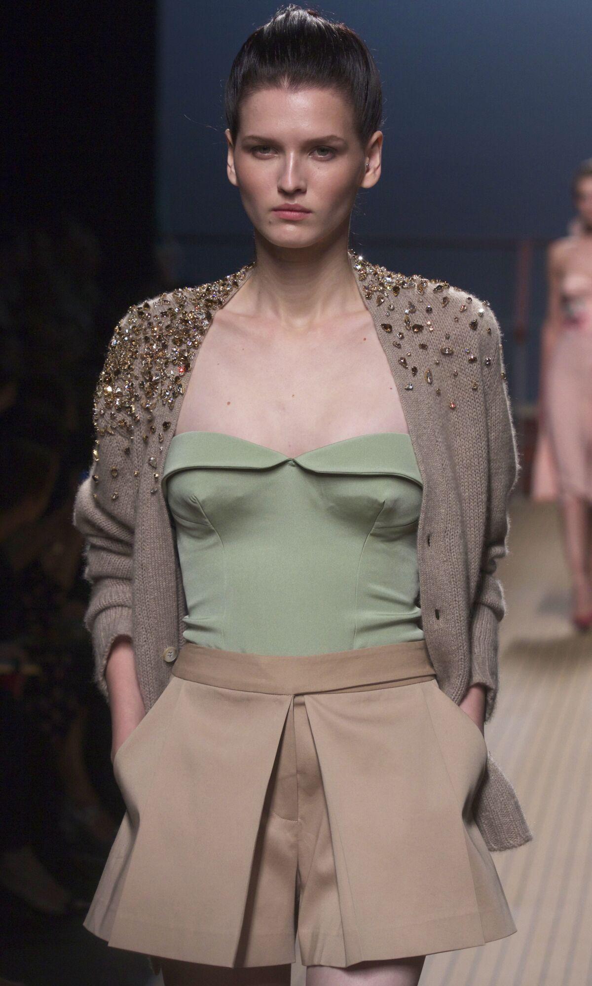 Spring 2014 Fashion Trends Ermanno Scervino