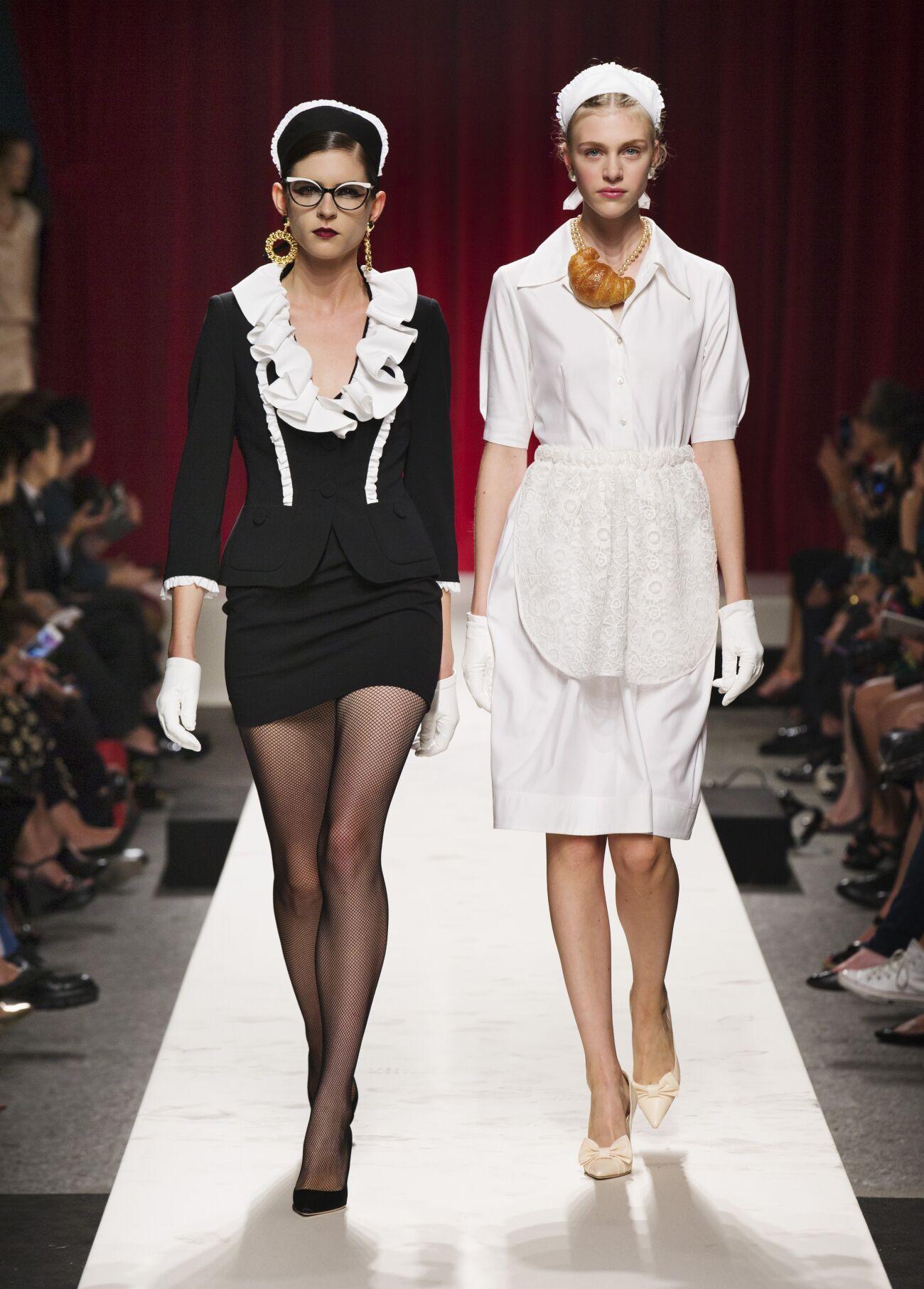Spring 2014 Woman Fashion Show Moschino