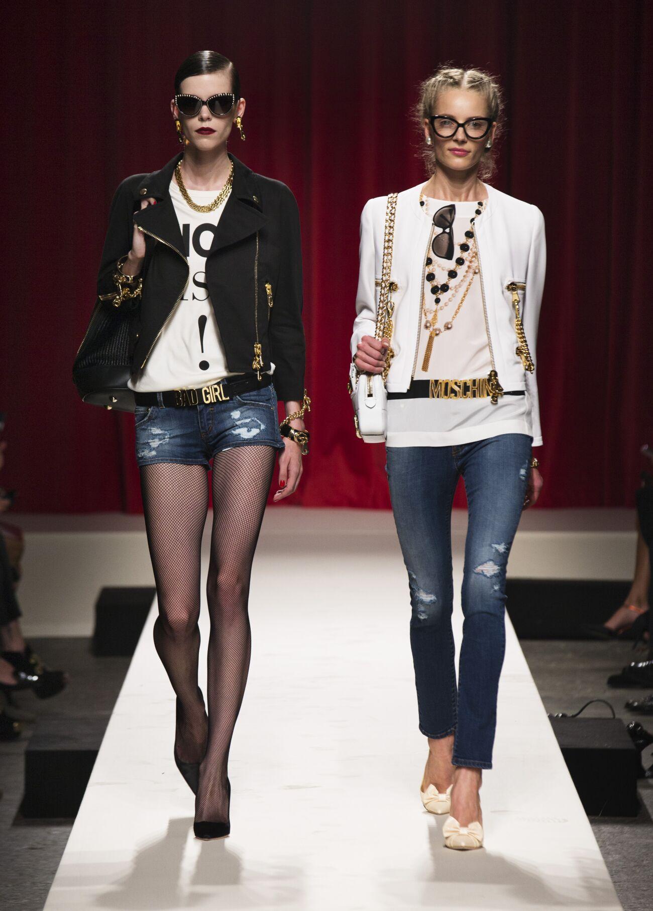 Summer 2014 Fashion Show Moschino