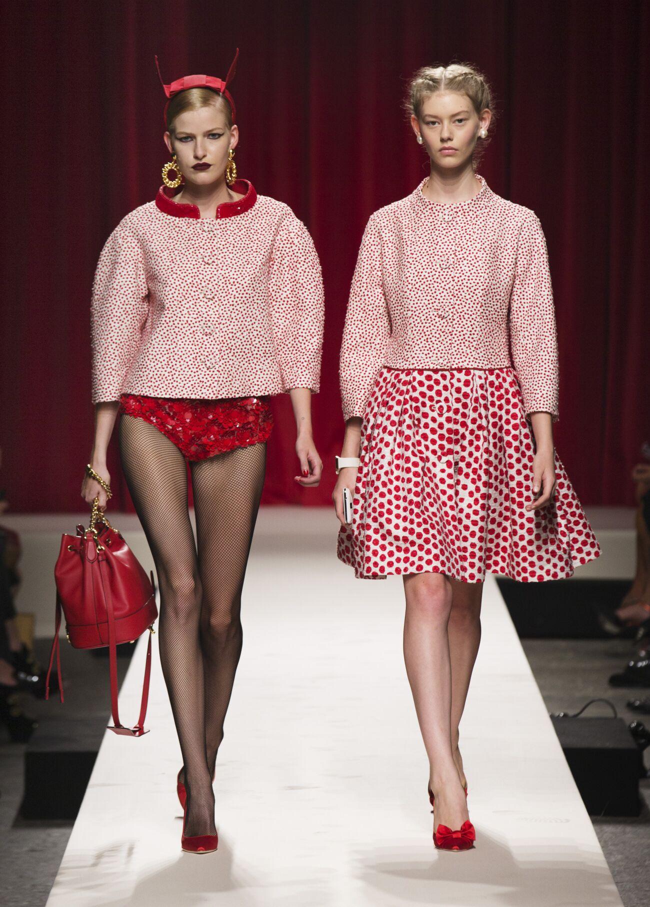 Summer 2014 Woman Trends Moschino