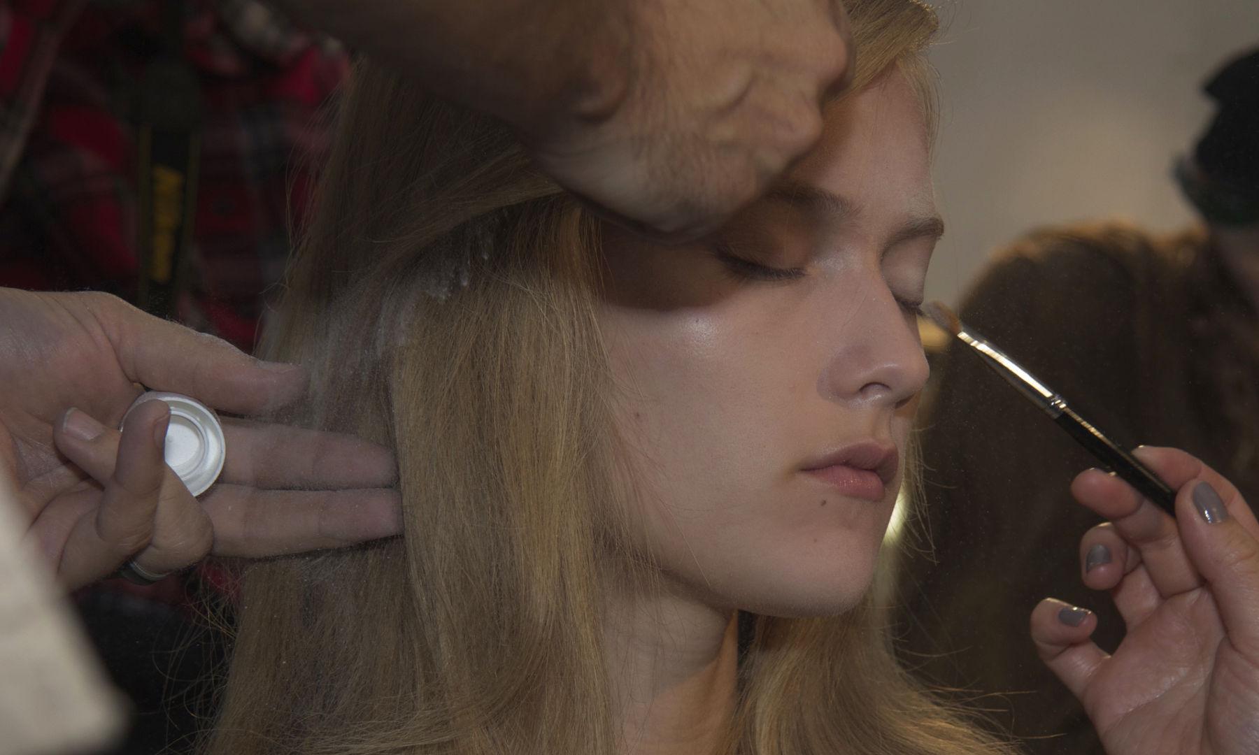 Backstage Fashion Woman Model