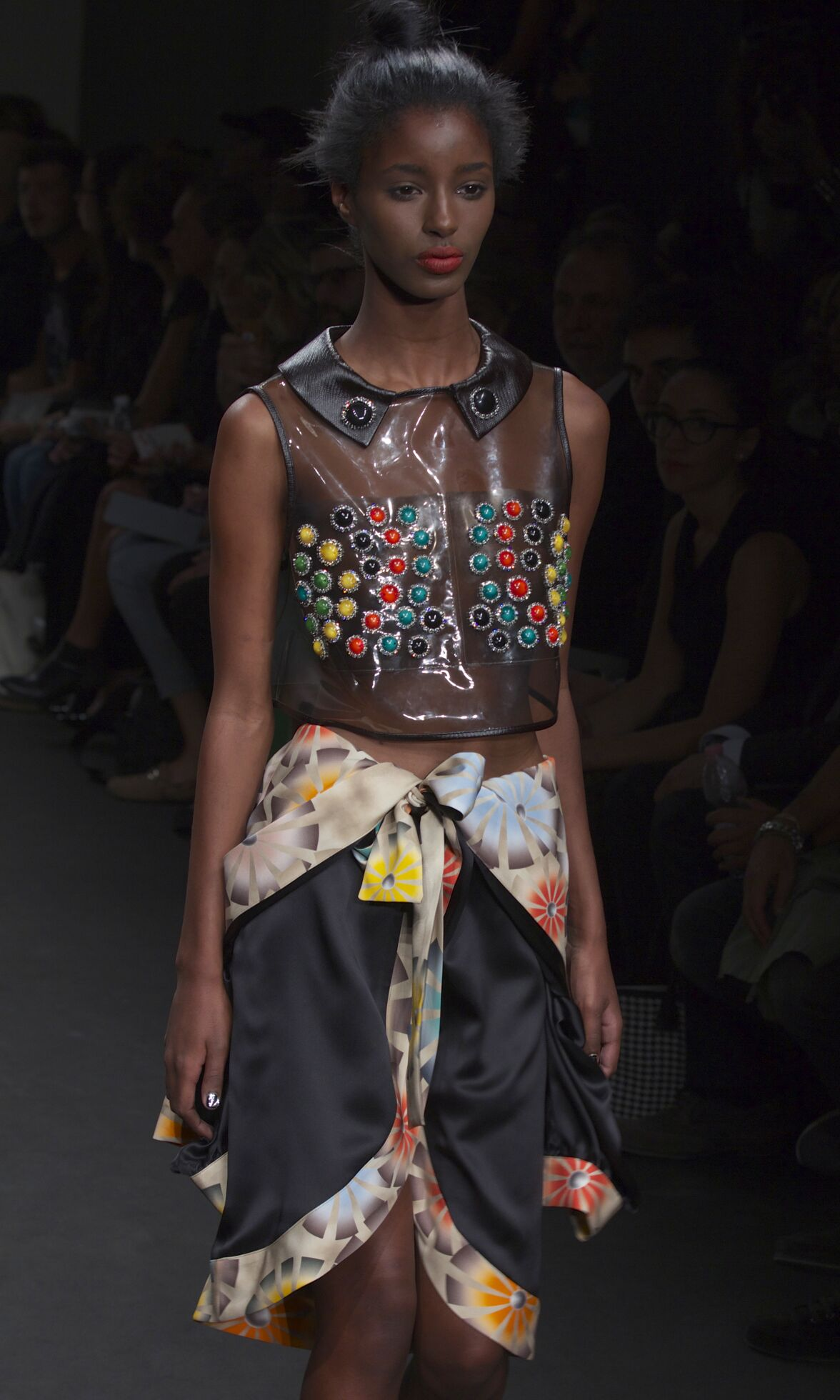 Fashion Woman Model Jo No Fui Catwalk