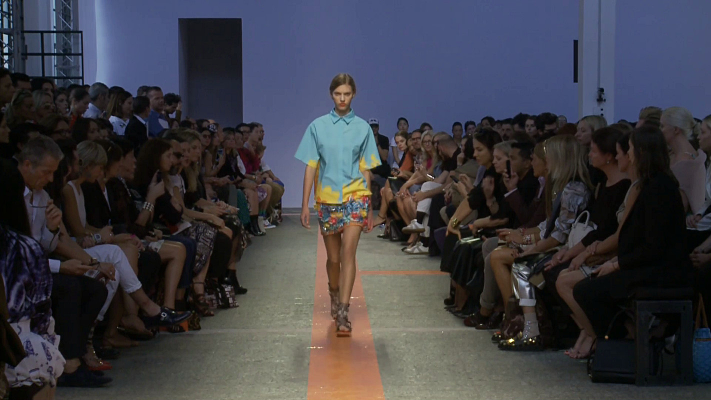 MSGM Spring Summer 2014 Women's Fashion Show - Milano Fashion Week