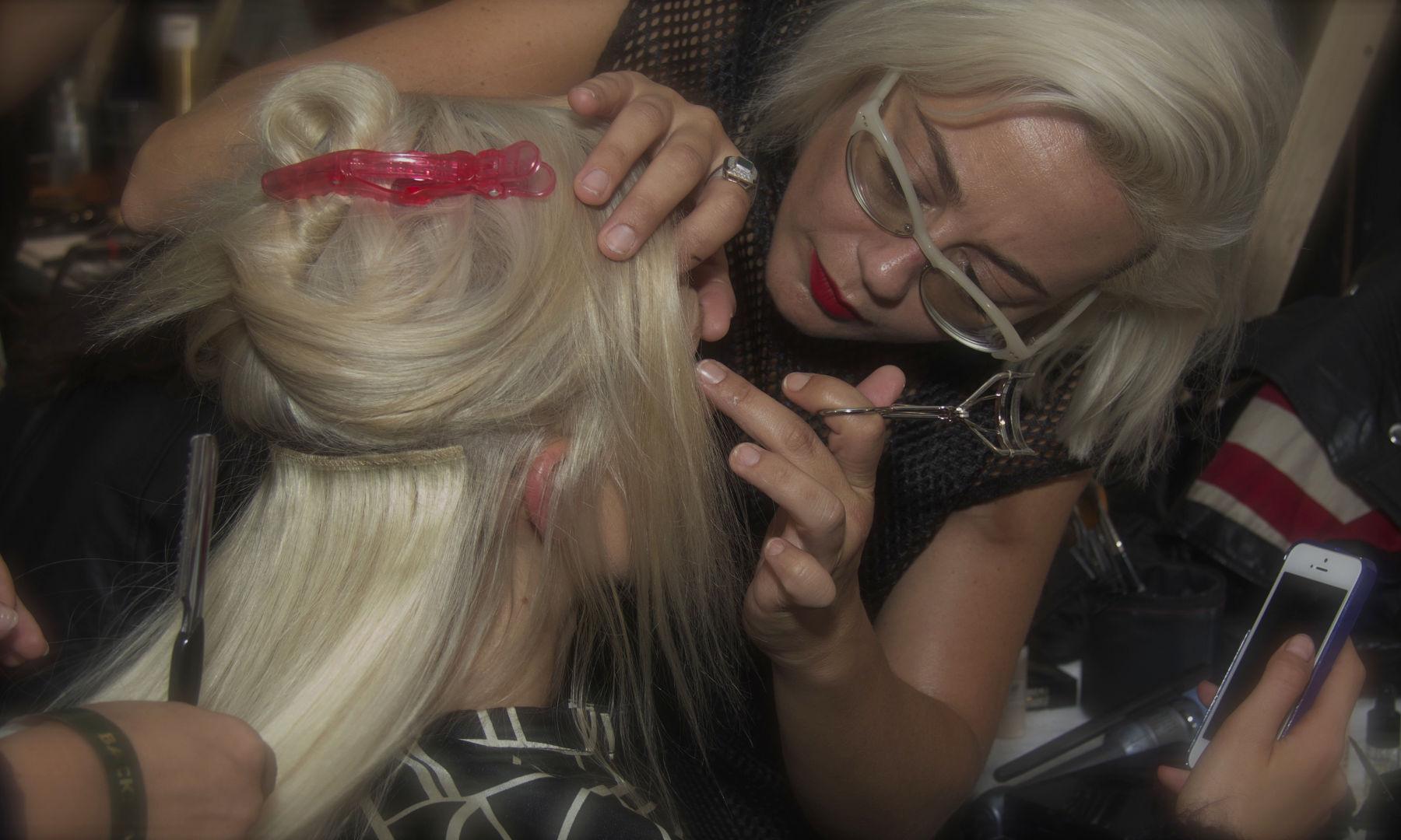 Make Up Backstage Fashion Show