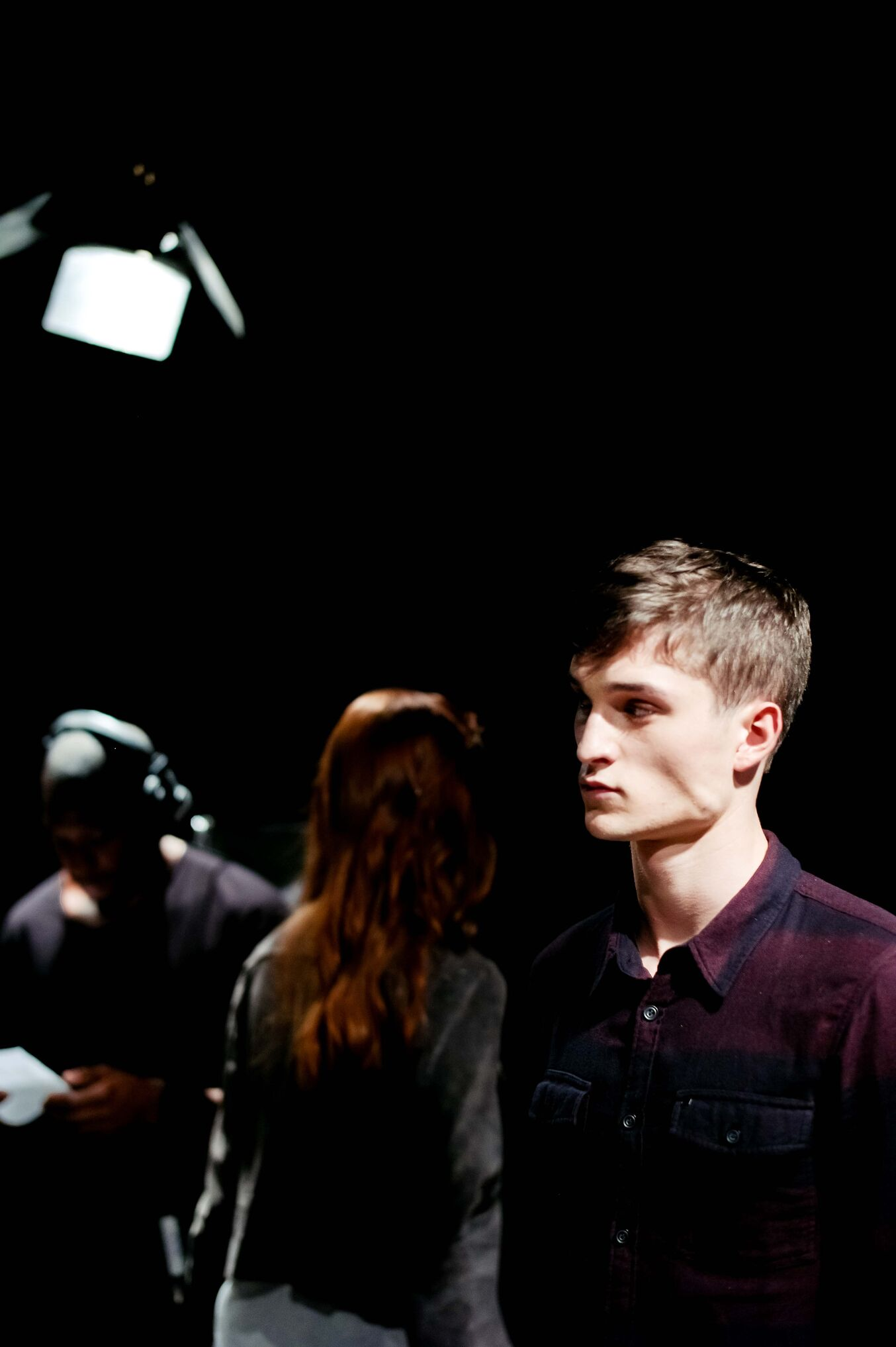 2014 Fashion Model Backstage Diesel Black Gold