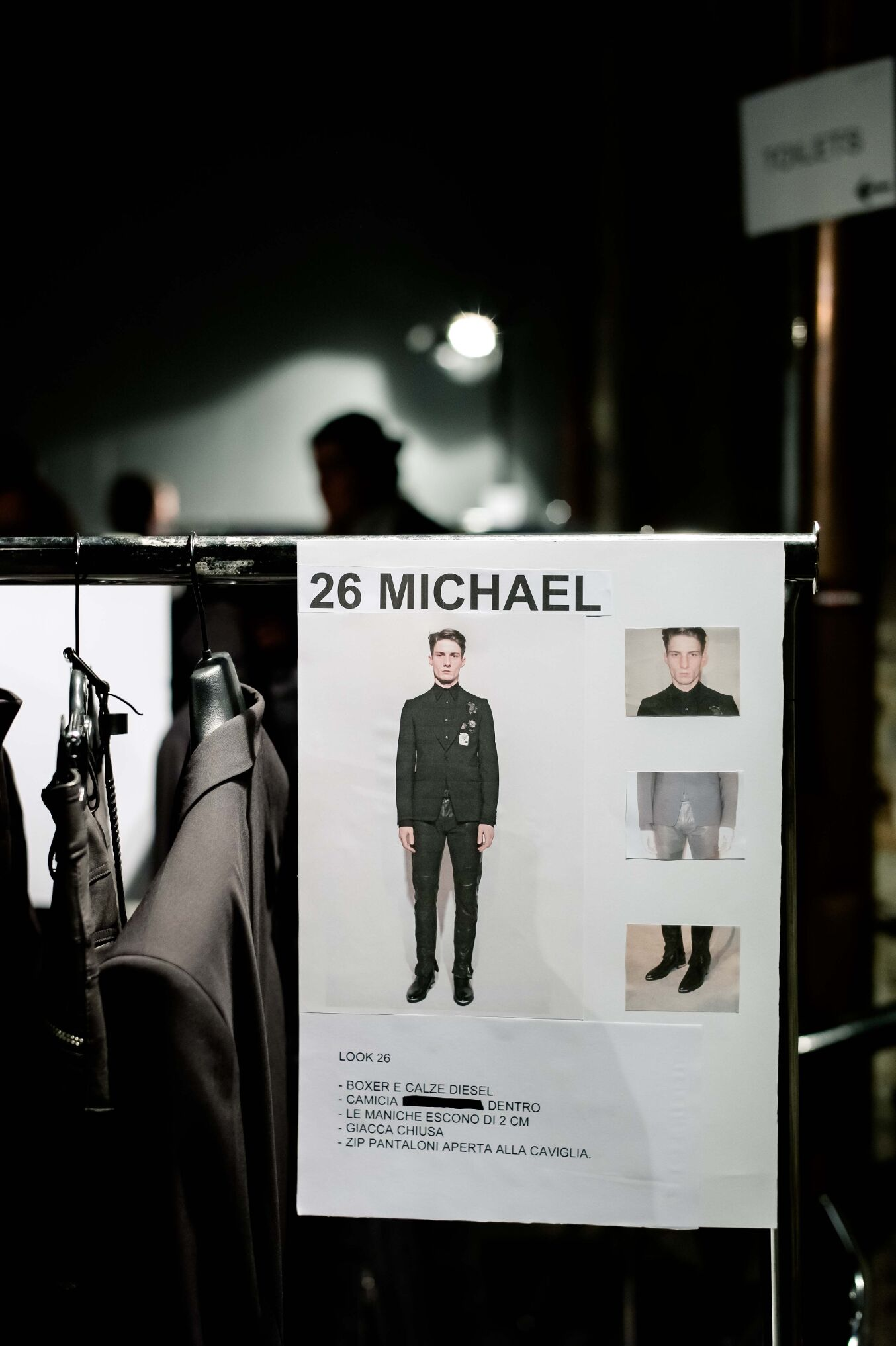 Backstage Diesel Black Gold 2014 Detail
