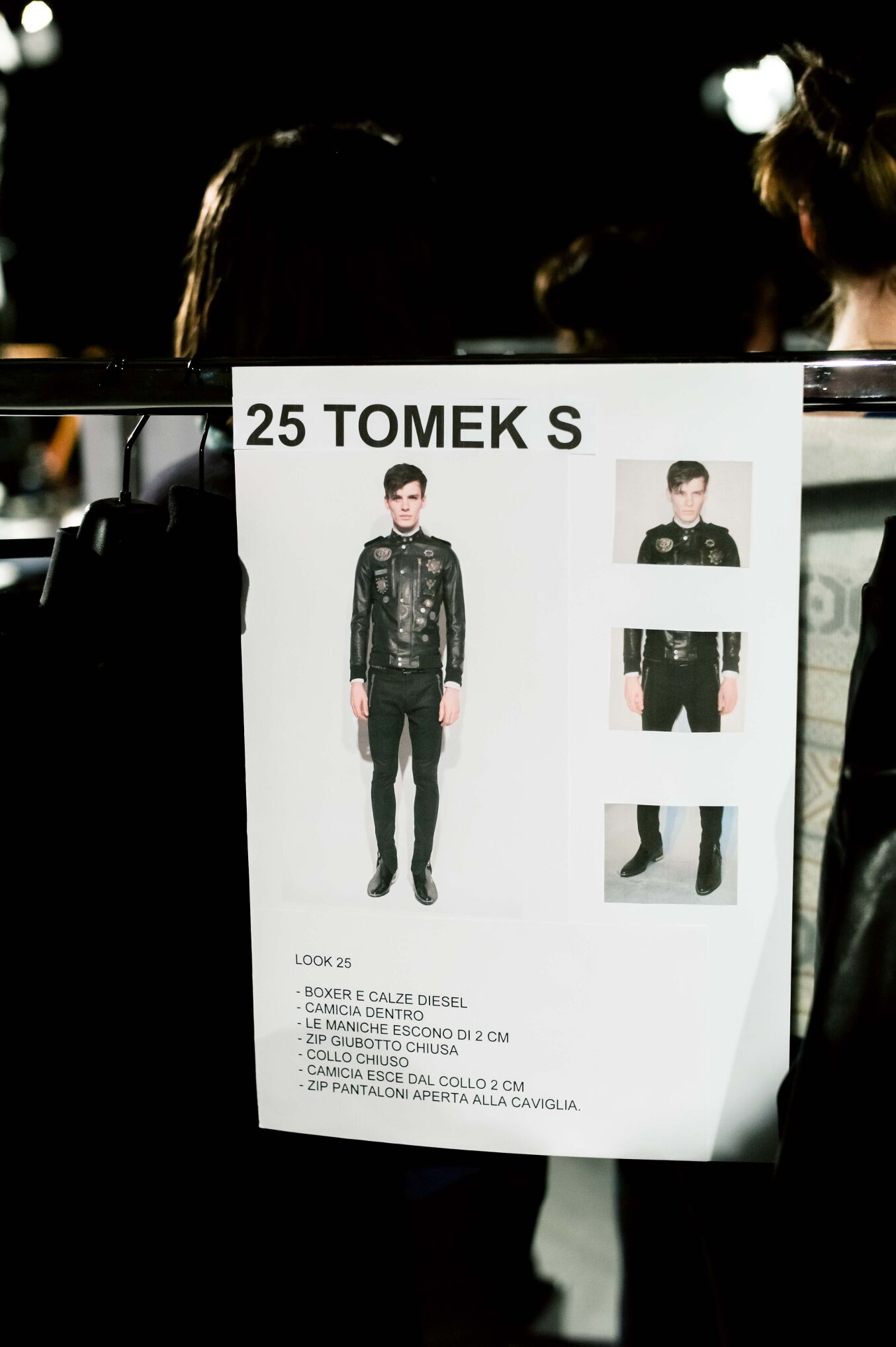 Backstage Diesel Black Gold FW 2014 15 Detail