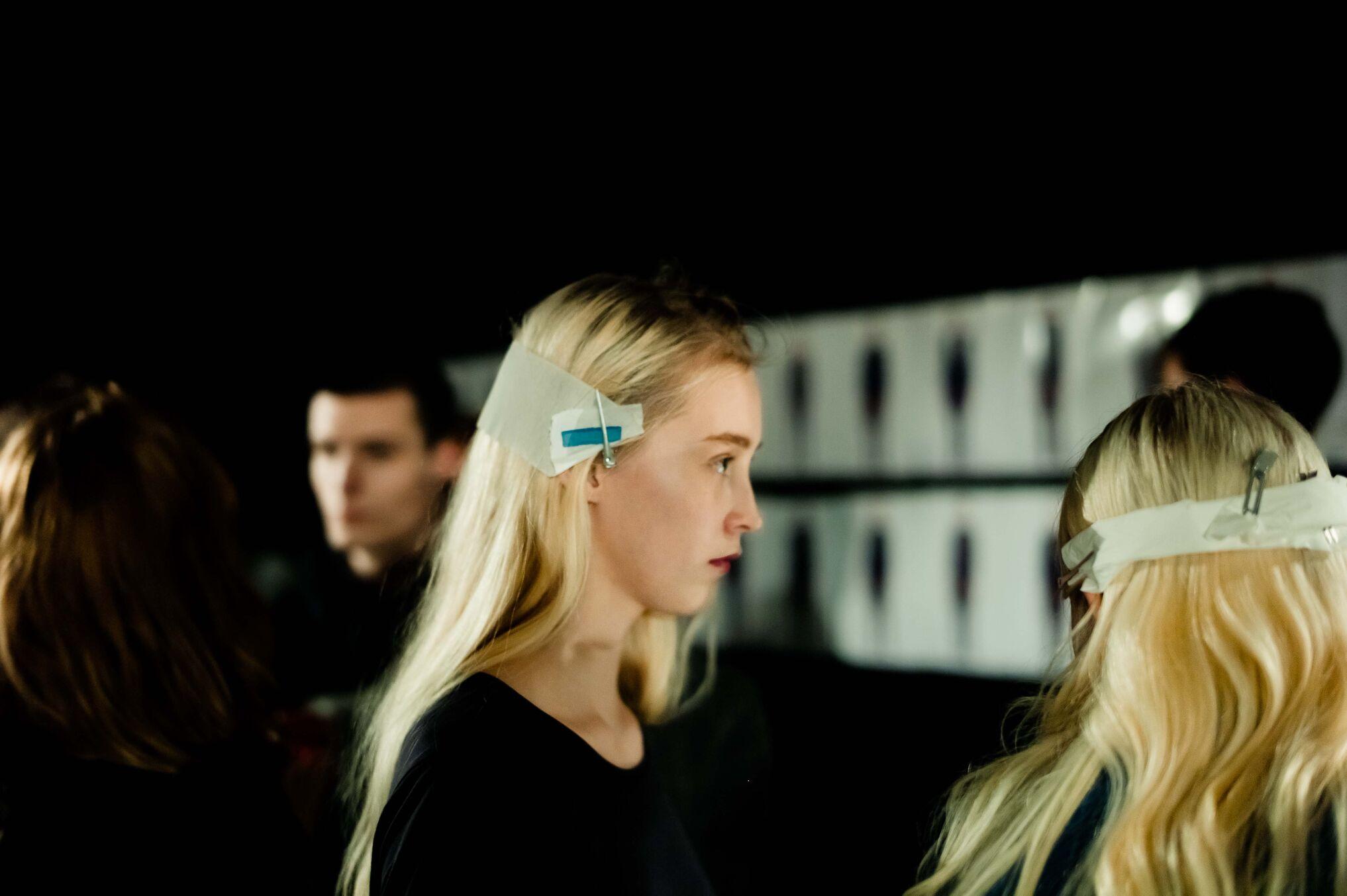 Backstage Fashion Show Diesel Black Gold