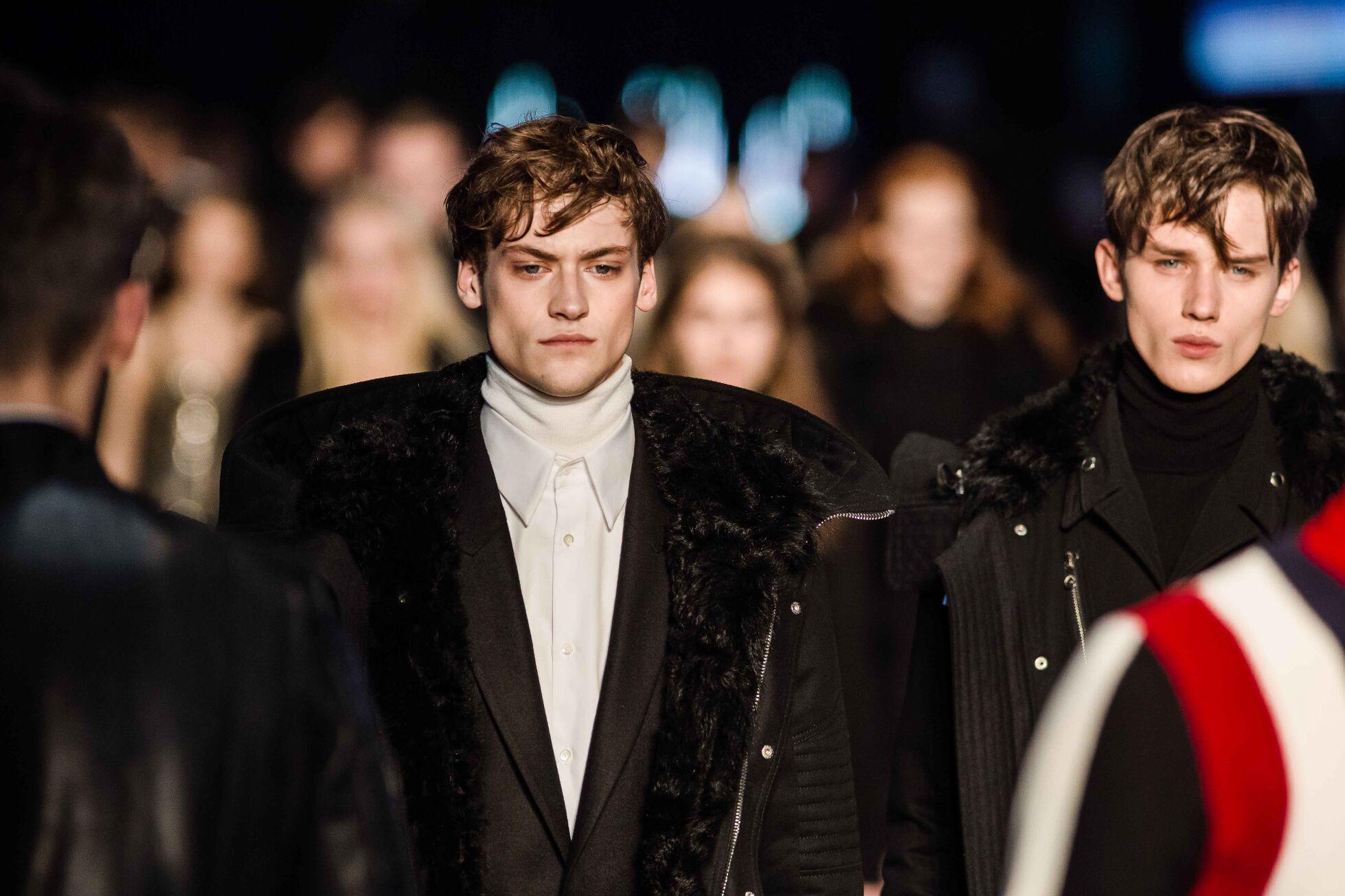 Catwalk Diesel Black Gold Man Fashion Show Winter 2014
