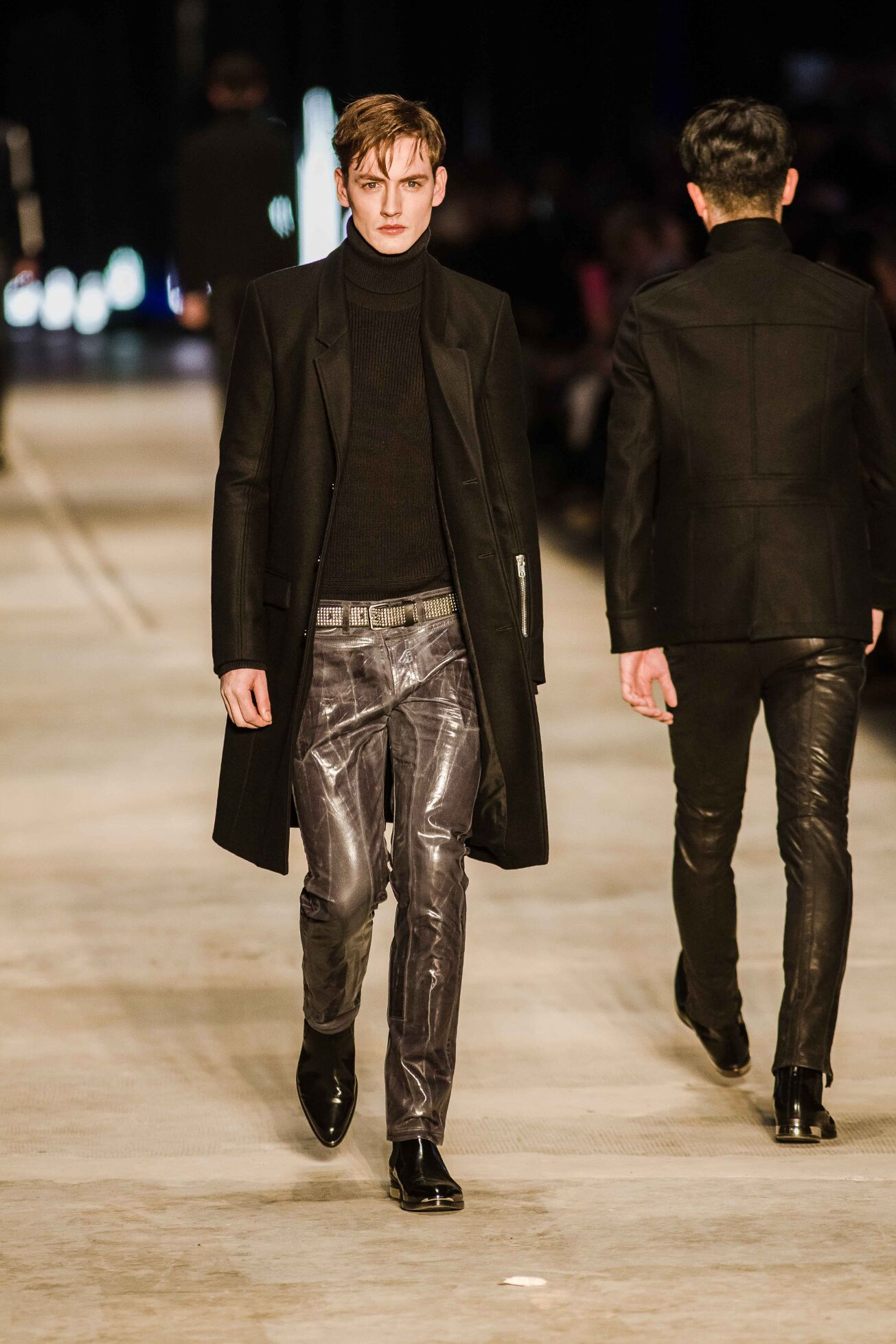 Fall 2014 Man Fashion Show Diesel Black Gold