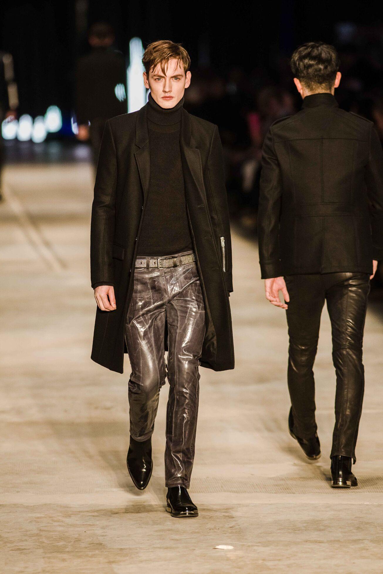 Fall 2014 Man Fashion Show Diesel Black Gold