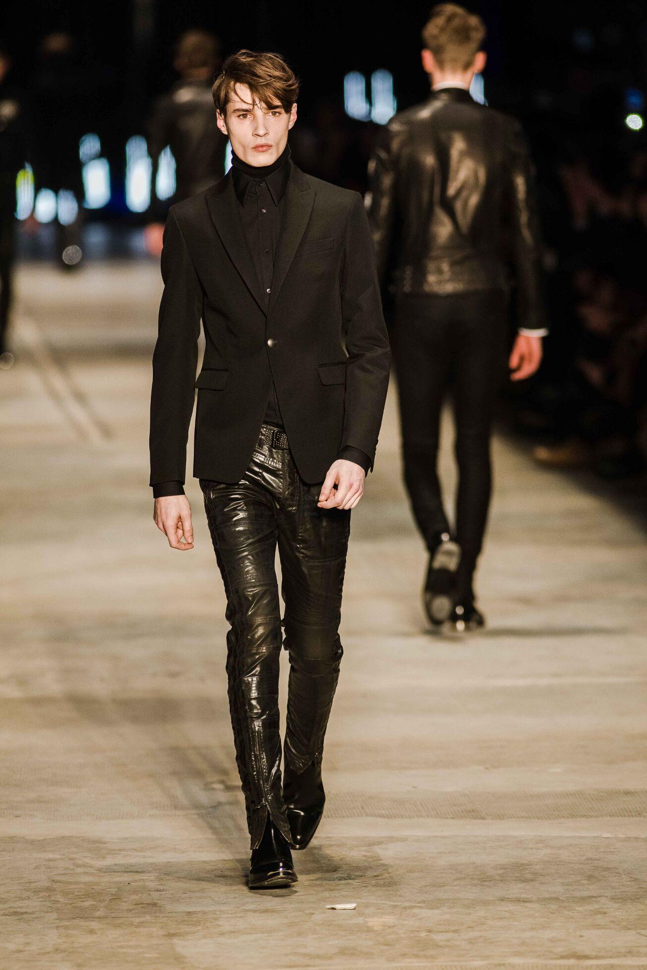 Winter 2014 Fashion Show Diesel Black Gold