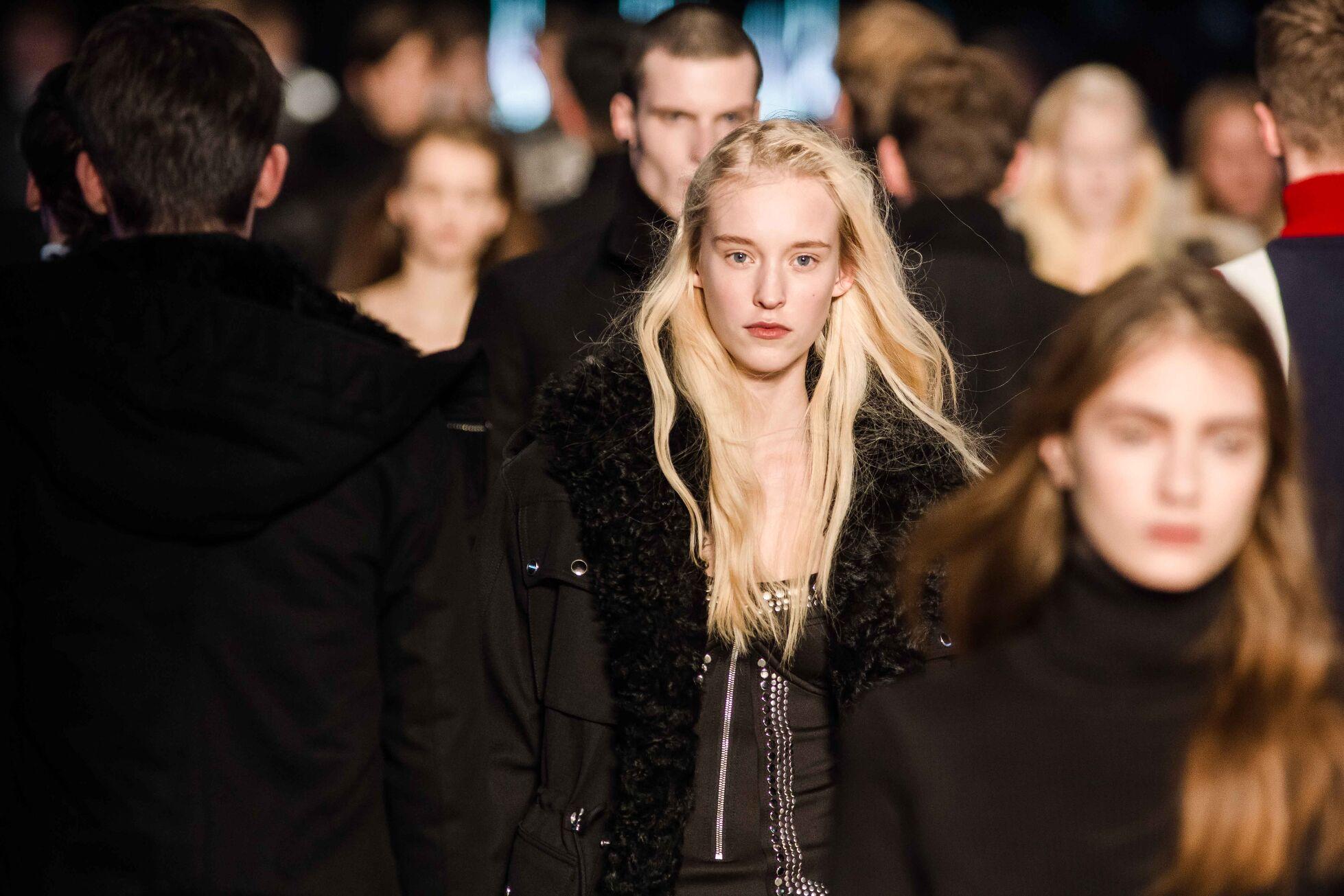 Winter Fashion Woman 2014 Diesel Black Gold