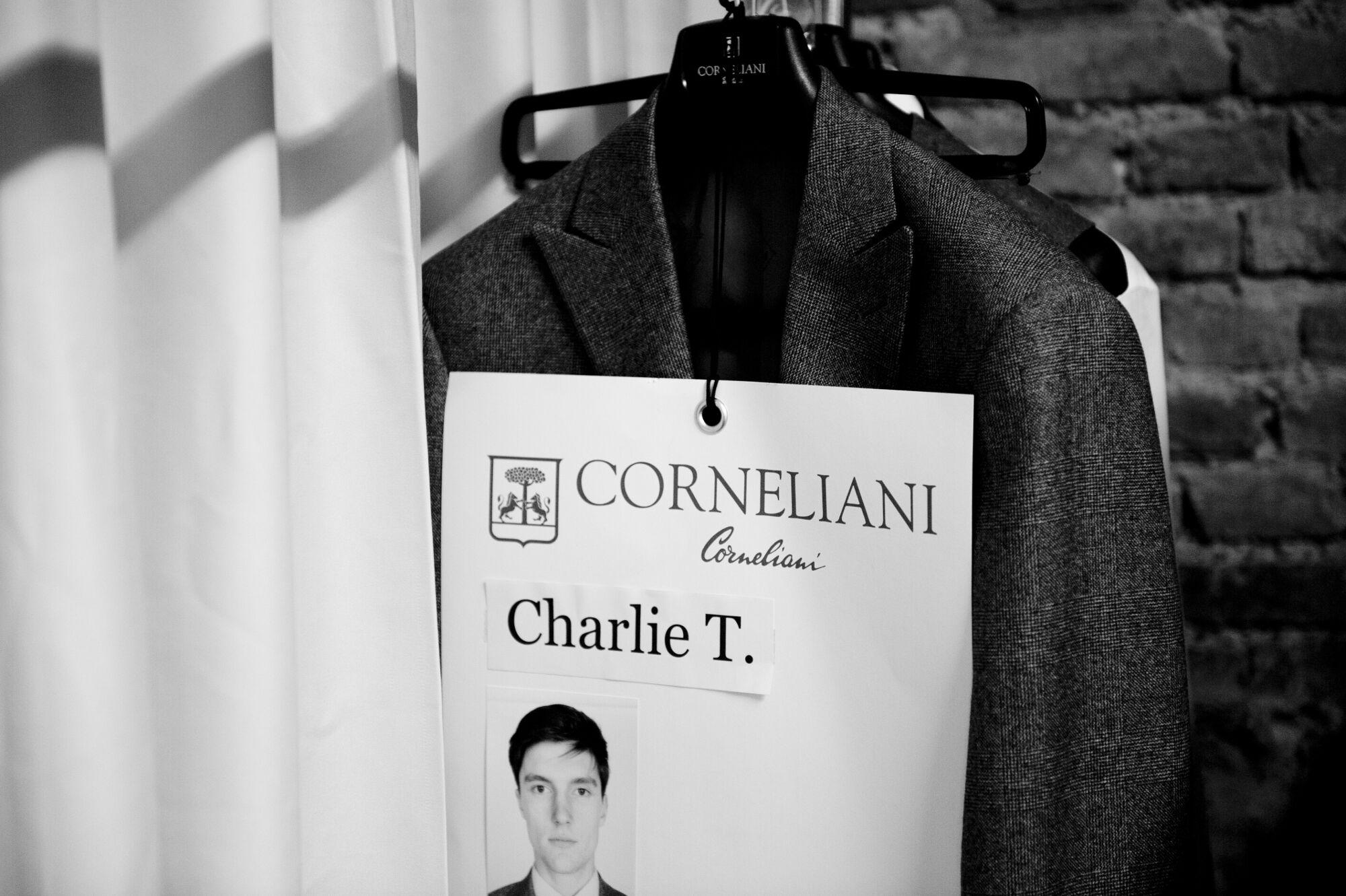 Backstage Corneliani 2014