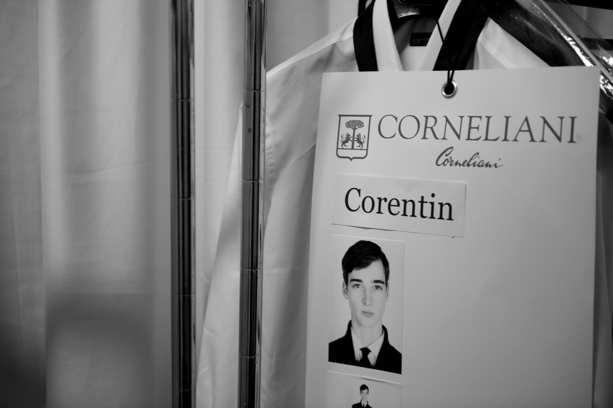Backstage Corneliani Detail
