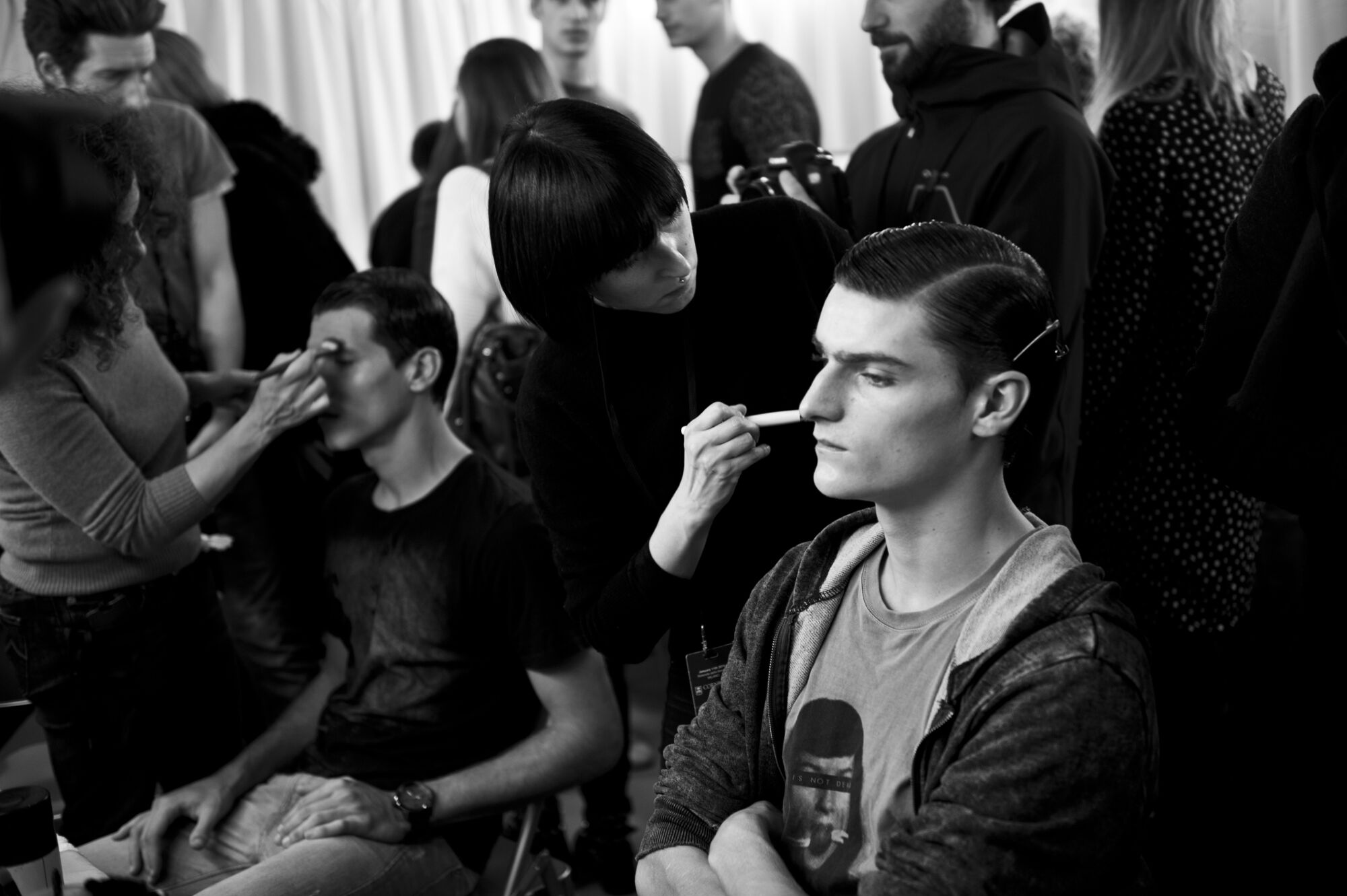 Backstage Corneliani Man 2014