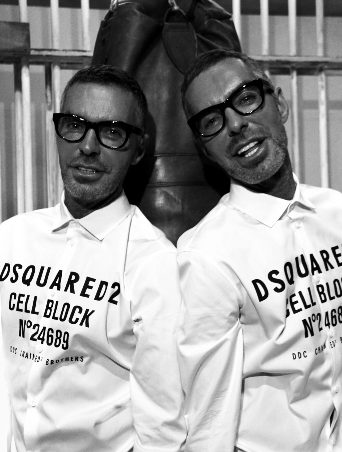Backstage Dsquared2 Dean and Dan