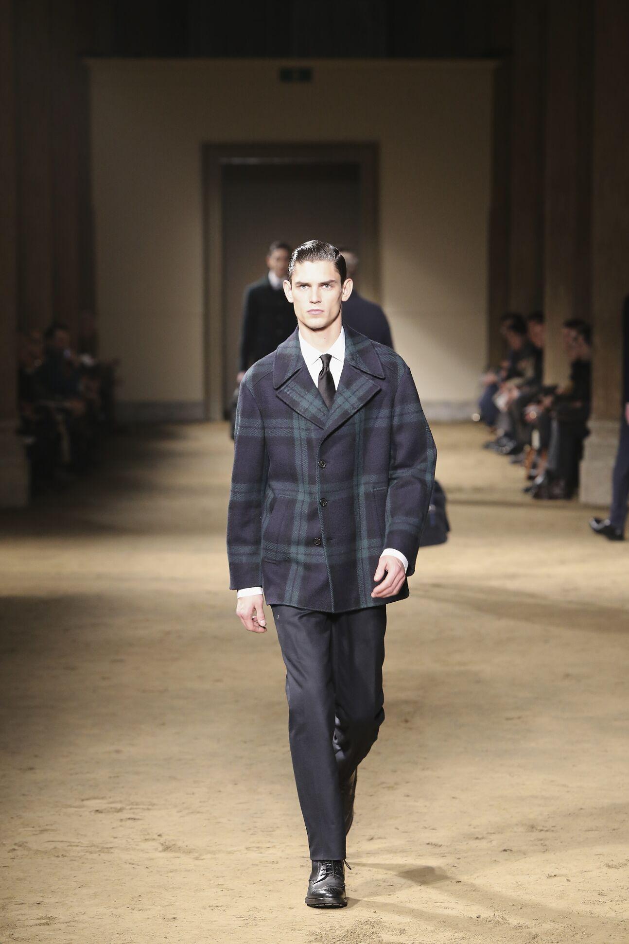 Corneliani Fall Winter 2014 15 Mens Collection Milano Fashion Week