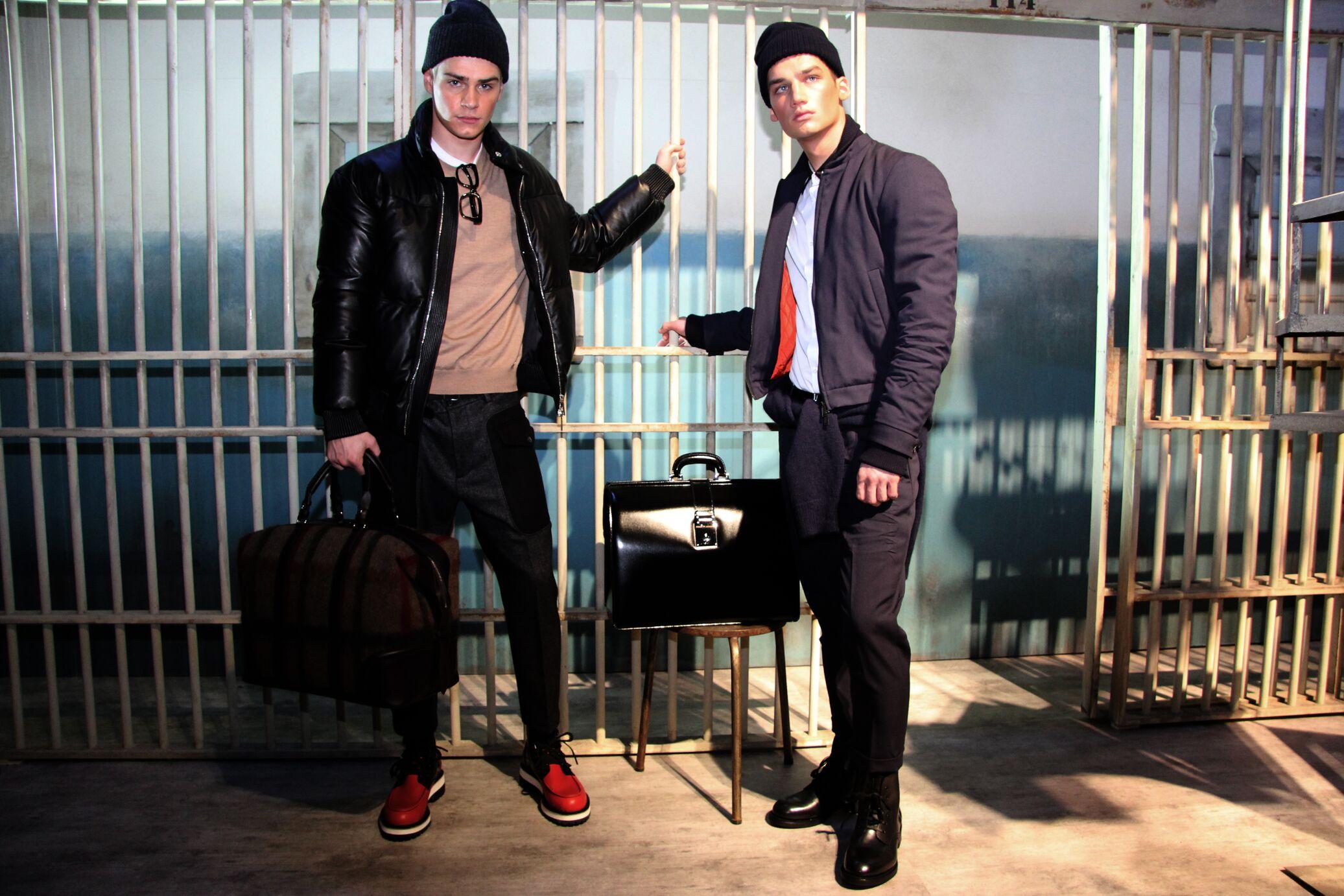 Dsquared2 Backstage Milano Fashion Week Menswear