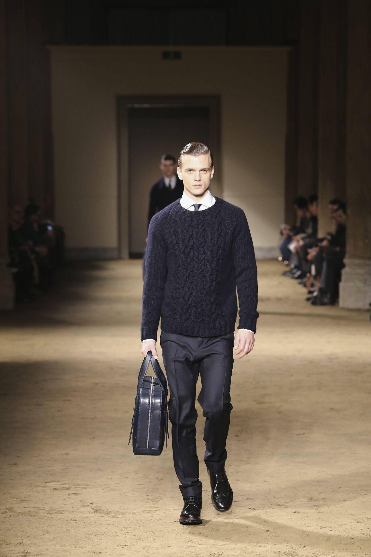 Fall 2014 Men Fashion Show Corneliani