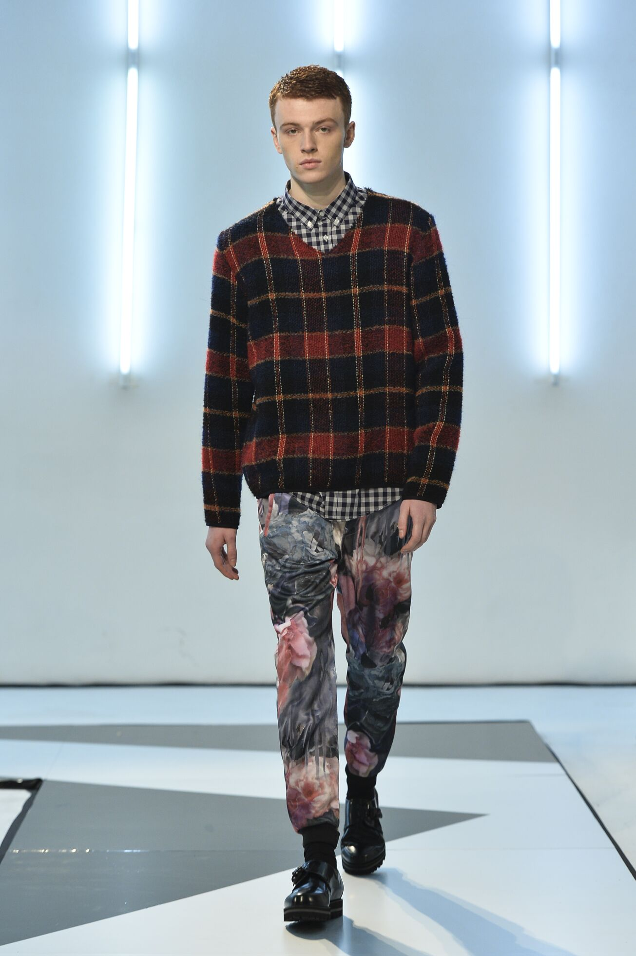 Fall 2014 Men Fashion Show Msgm