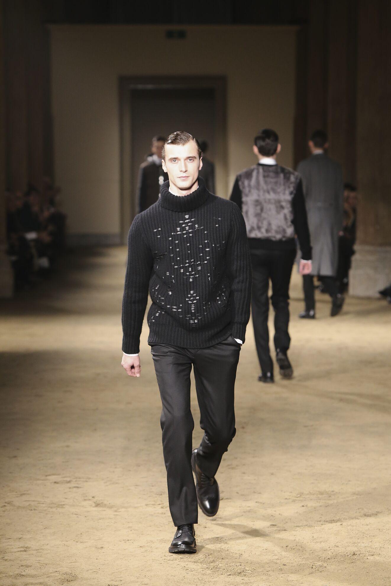Fall Corneliani Fashion Man
