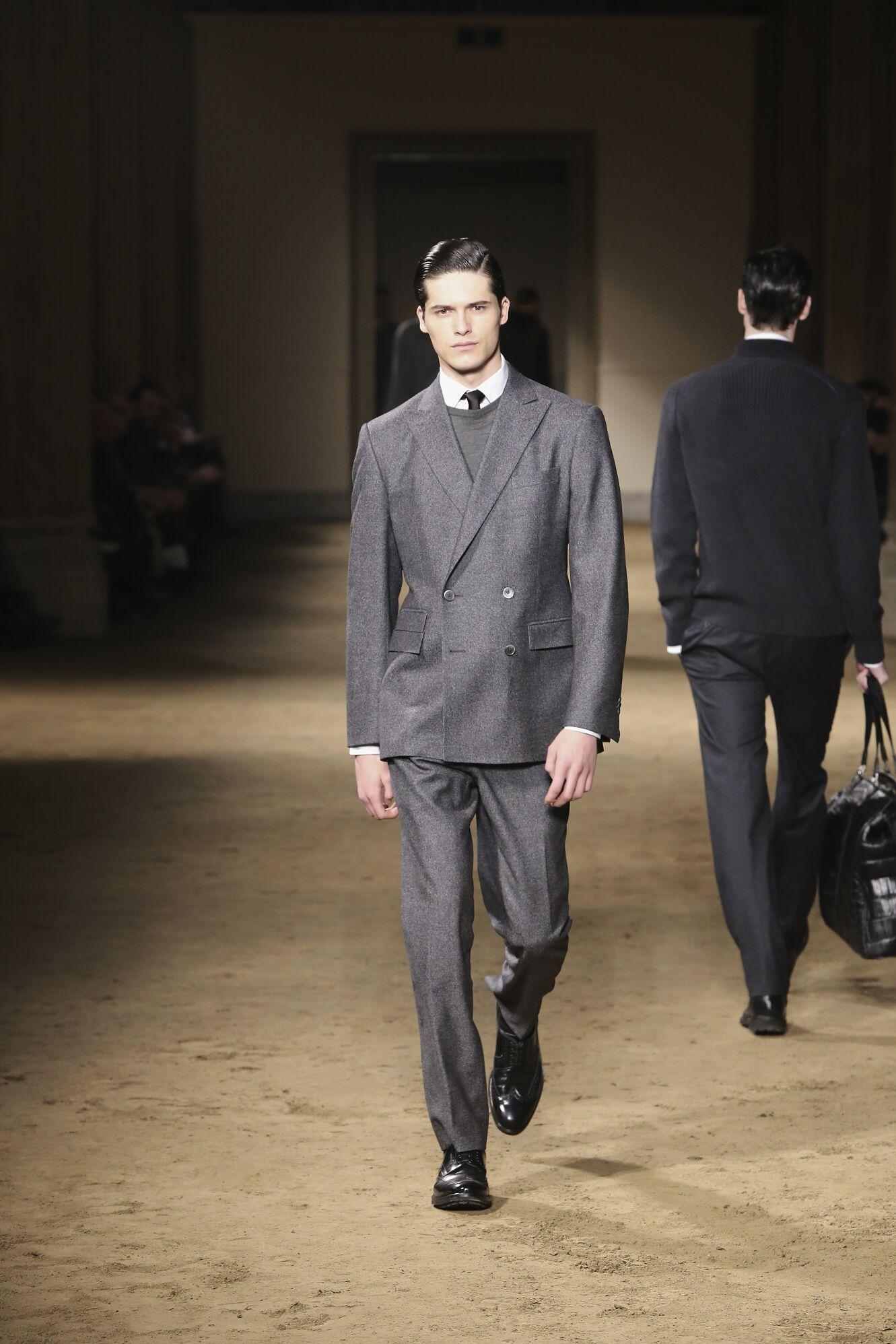 Fall Fashion Man Suit