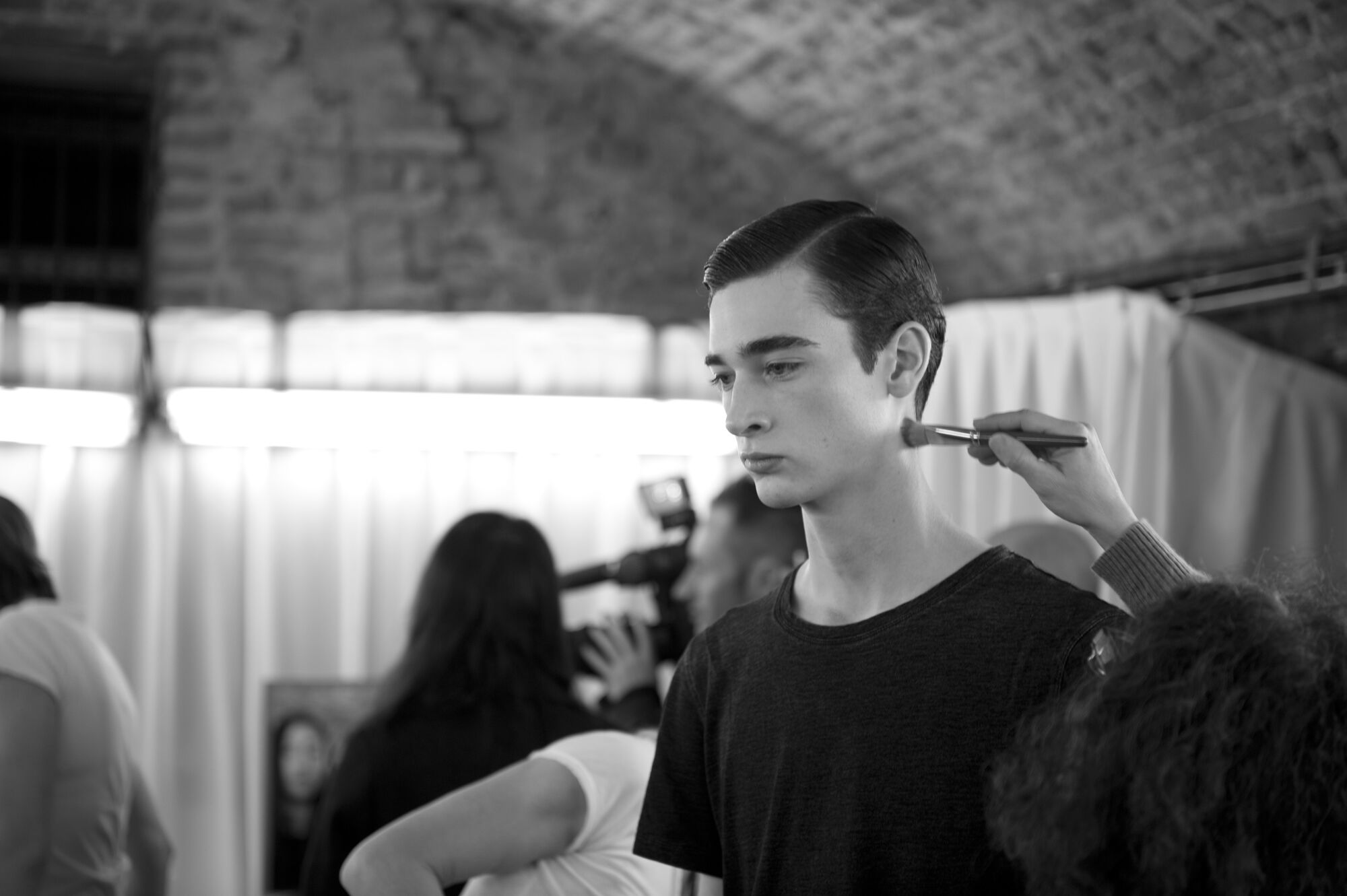 Model Backstage Corneliani