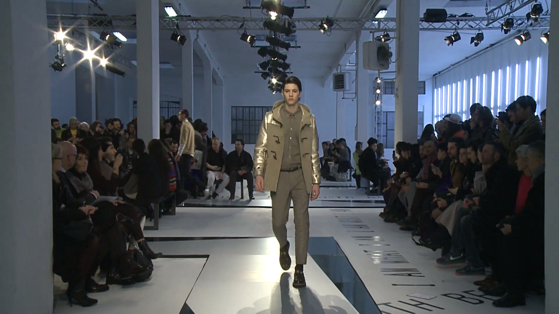 Msgm Fall Winter 2014-15 Men's Fashion Show - Milano Fashion Week