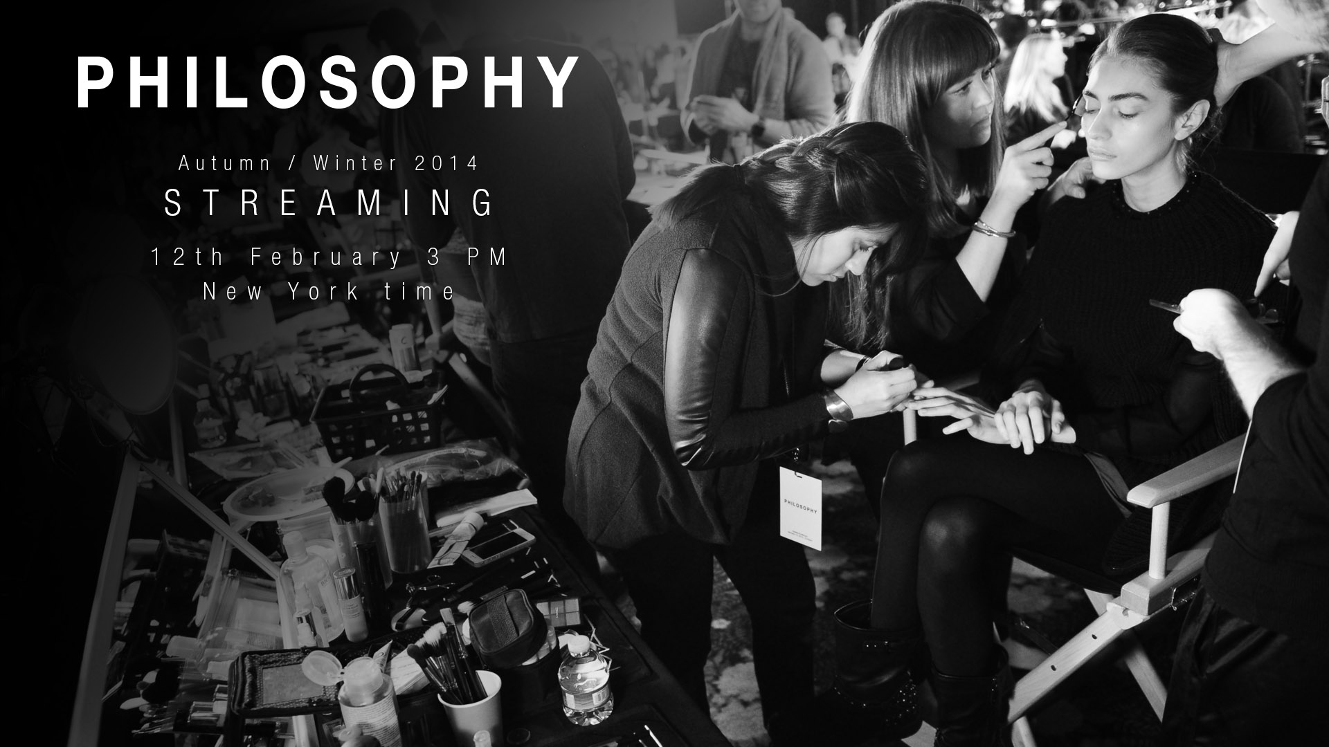 Philosophy Autumn/Winter 2014 Fashion Show Live Streaming - 12th February 3pm New York