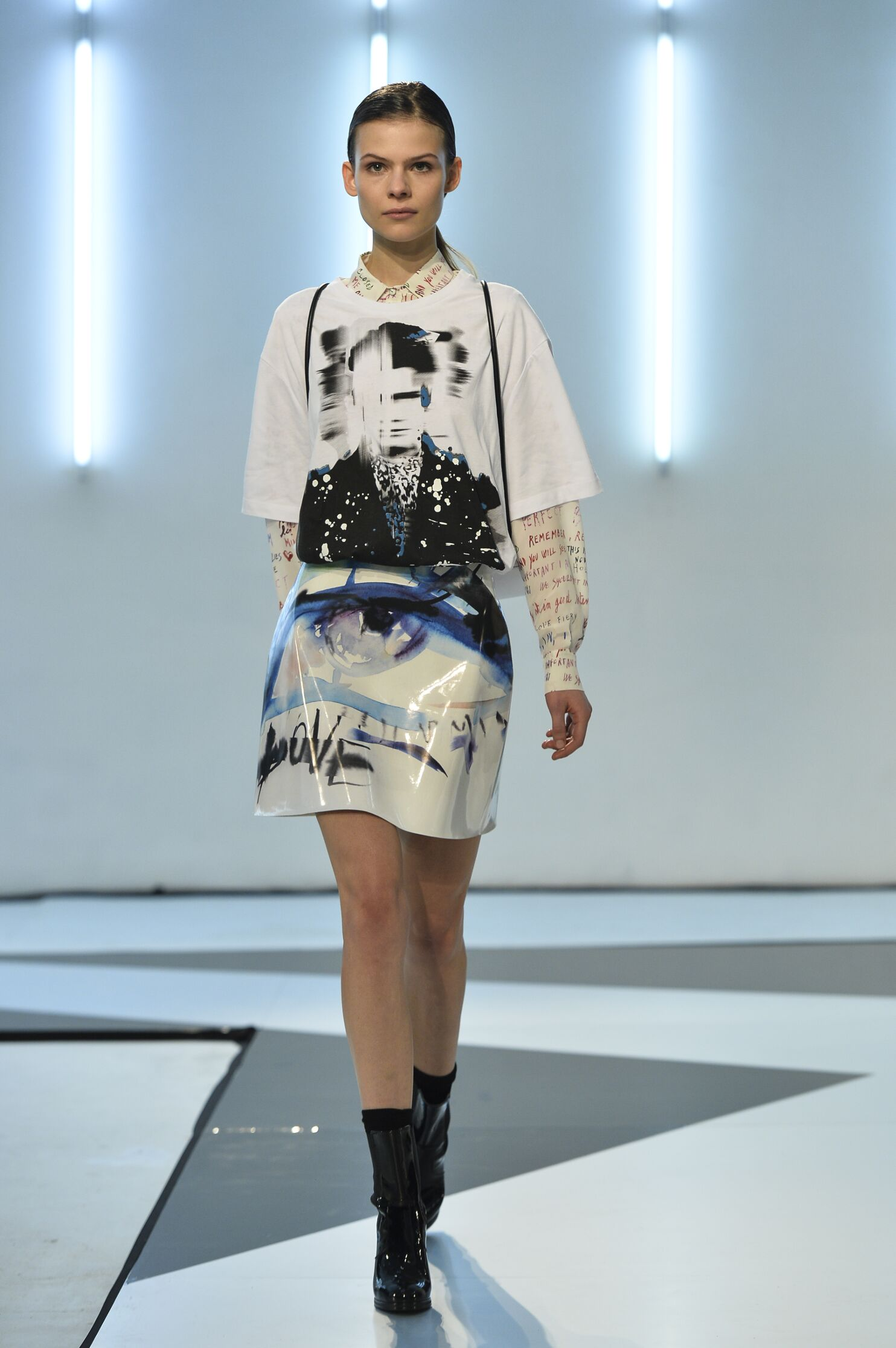 Runway Msgm Fall Winter 2014 15 Woman Milan Fashion Week