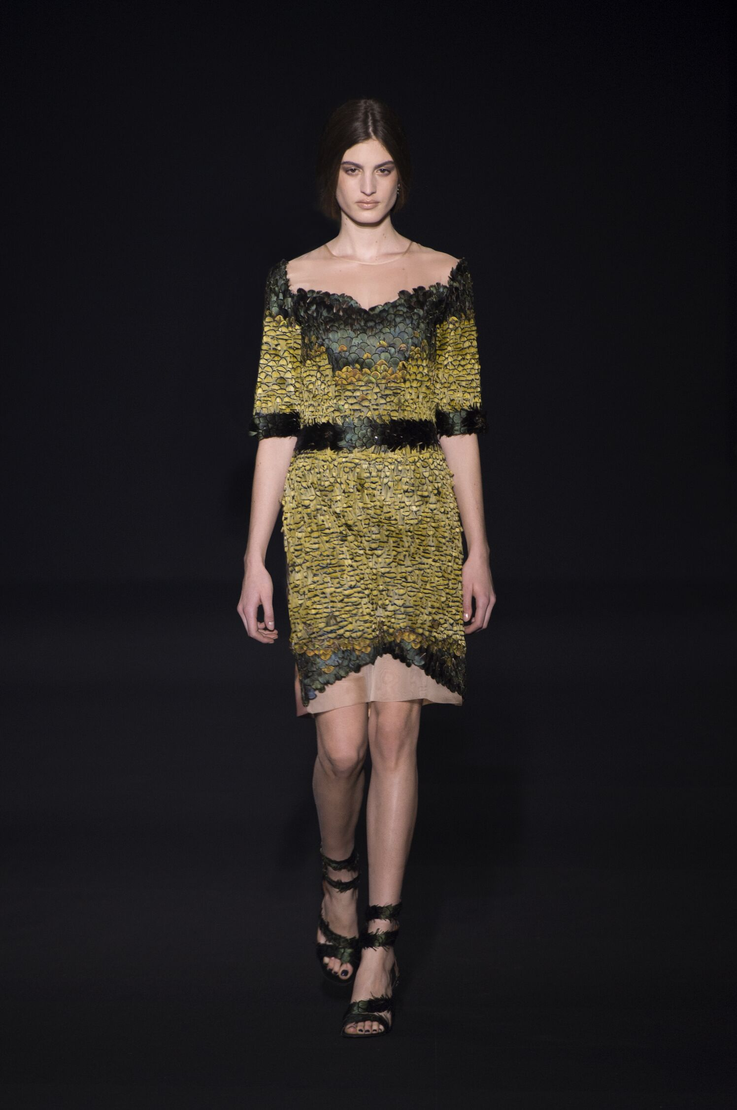 Alberta Ferretti Fall Winter 2014 15 Women Collection Milan Fashion Week Fashion Show