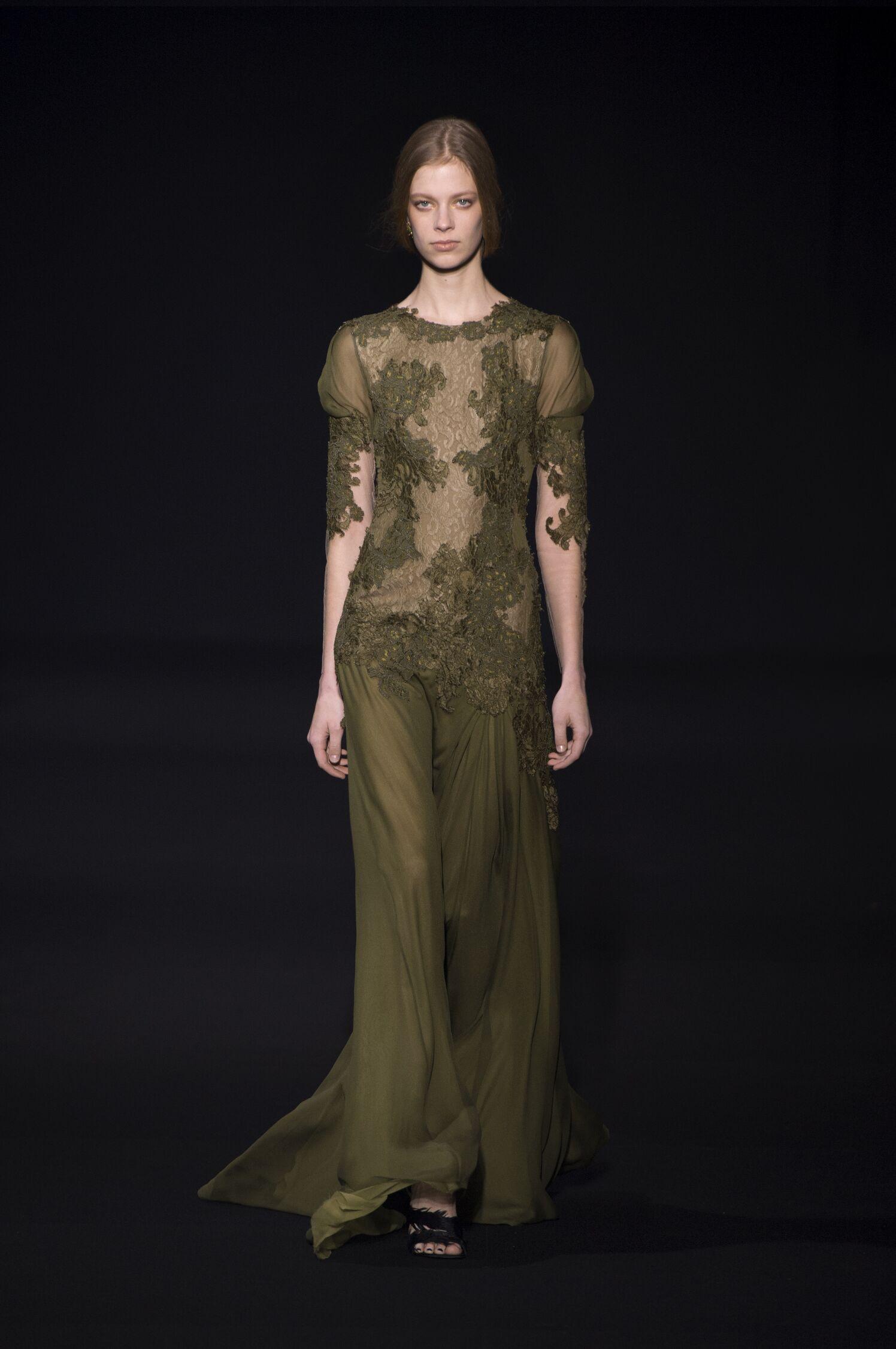 Alberta Ferretti Fall Winter 2014 15 Womens Collection Milano Fashion Week