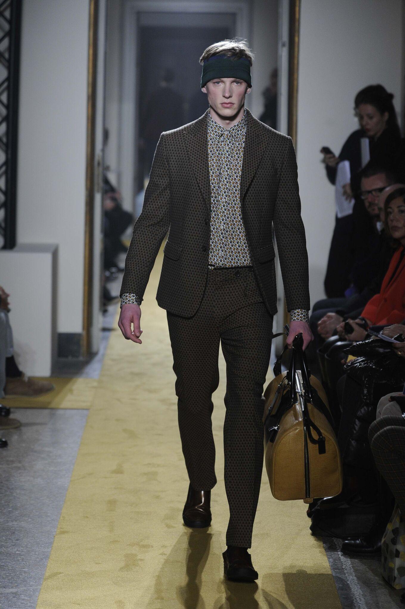 Andrea Incontri Fall Winter 2014 15 Men Collection Milan Fashion Week Fashion Show