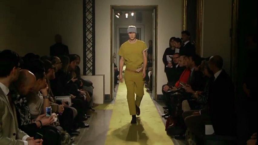 Andrea Incontri Fall Winter 2014-15 Men's Fashion Show - Milano Fashion Week