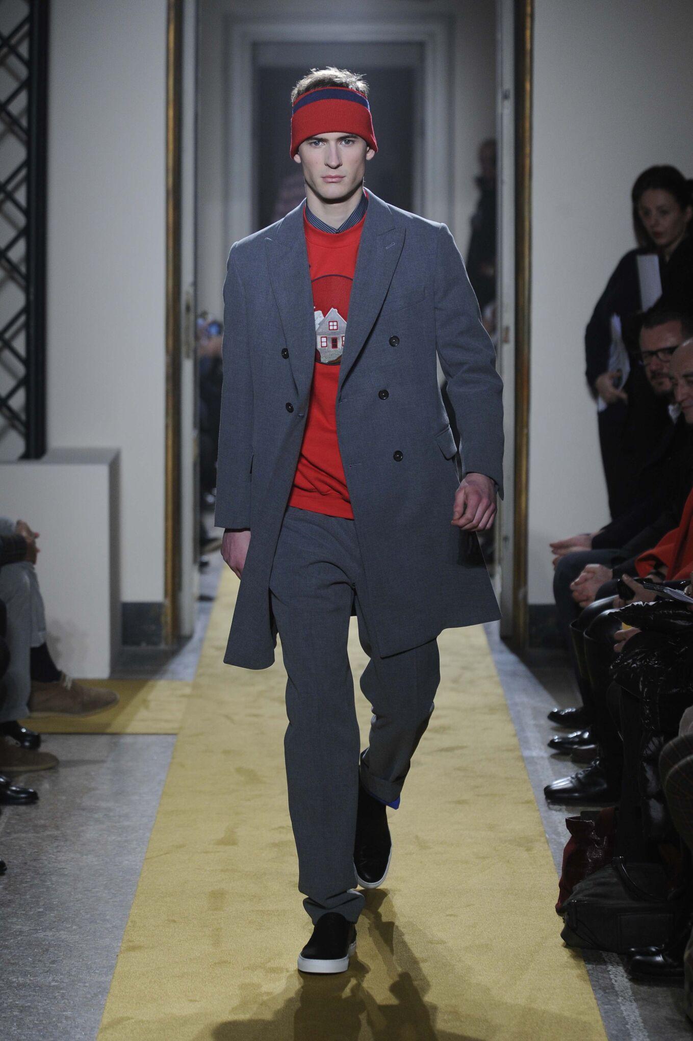 Andrea Incontri Milano Fashion Week Menswear