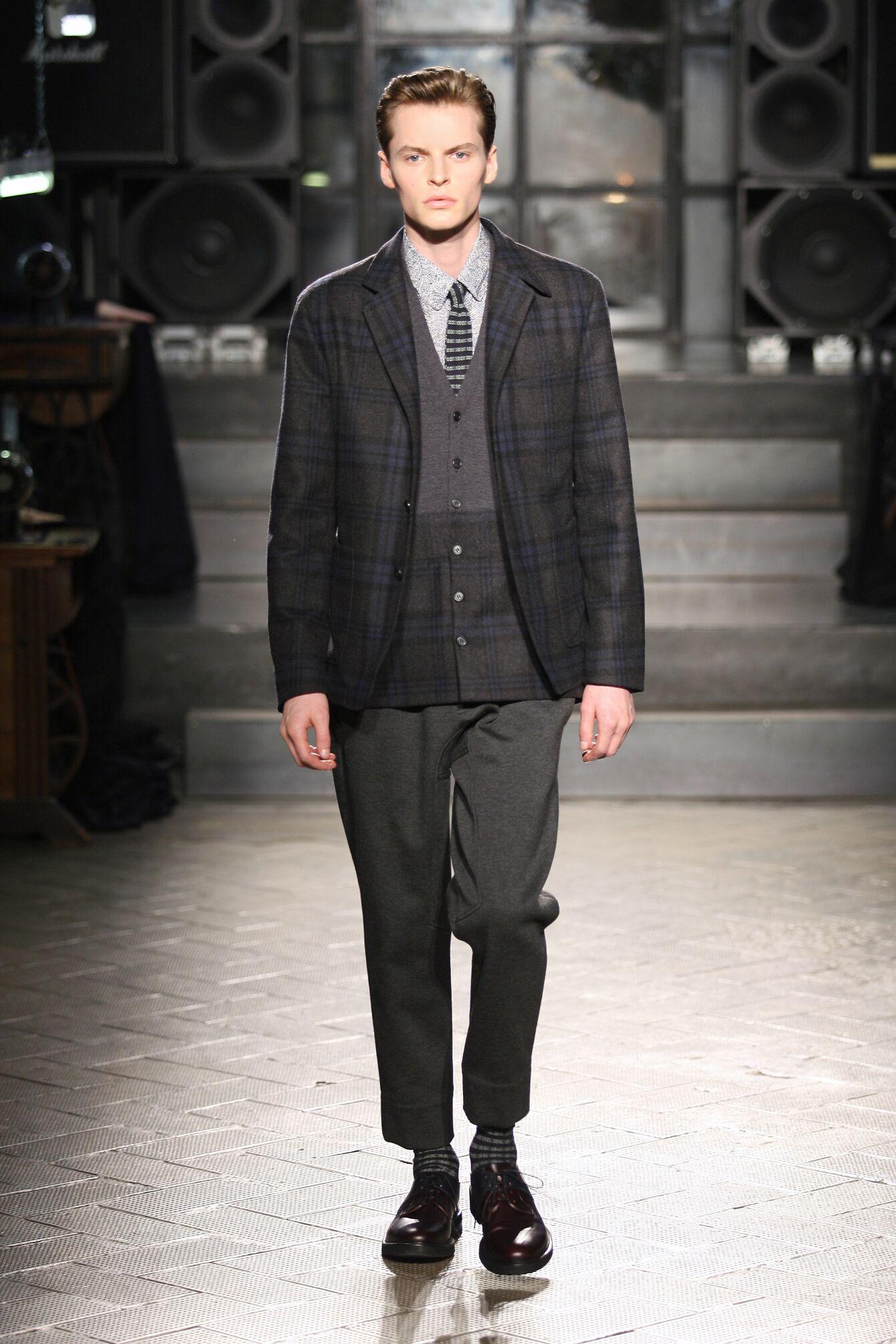 Antonio Marras Fall Winter 2014 15 Men Collection Milan Fashion Week Fashion Show