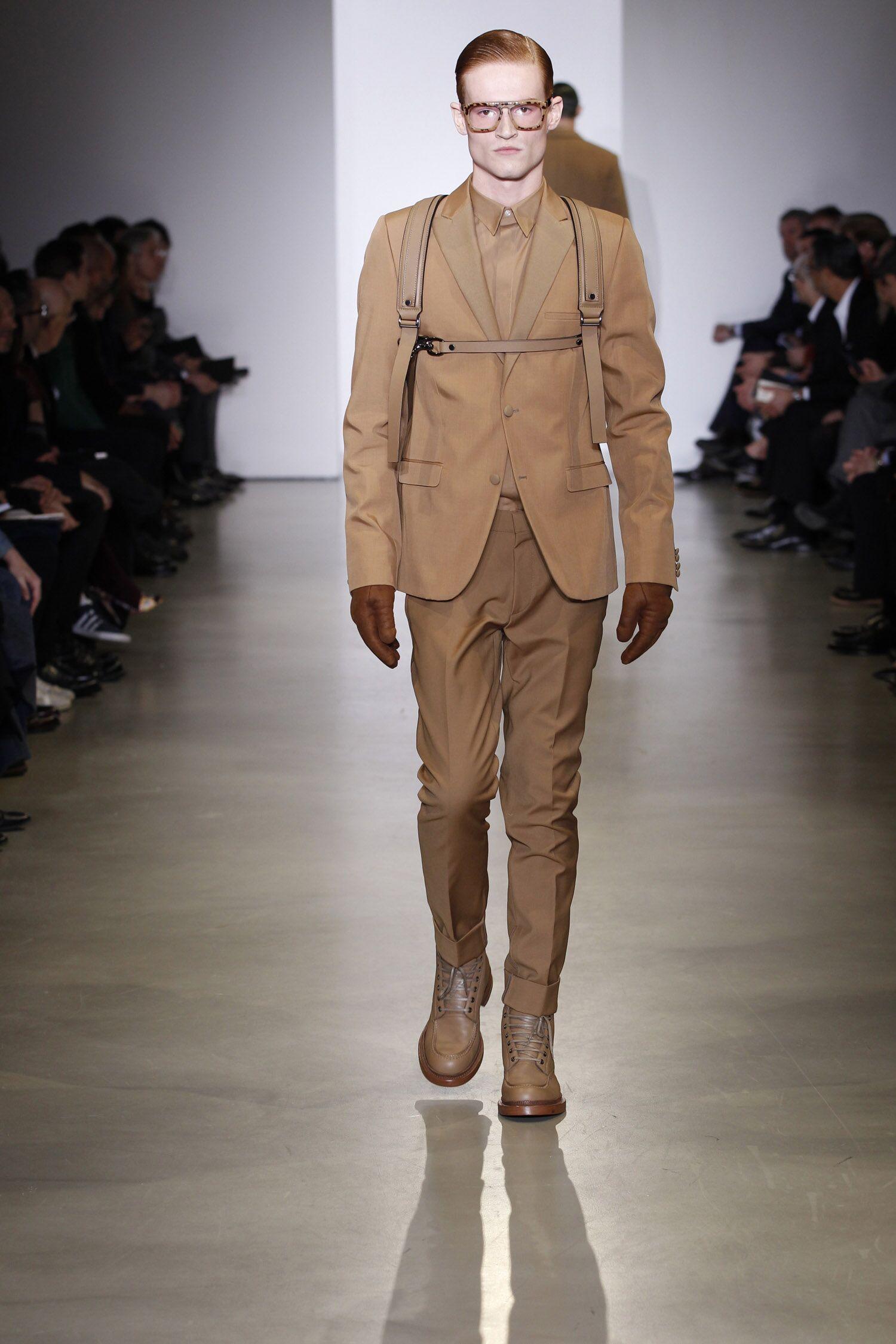 Calvin Klein Collection Fall Man 2014 15
